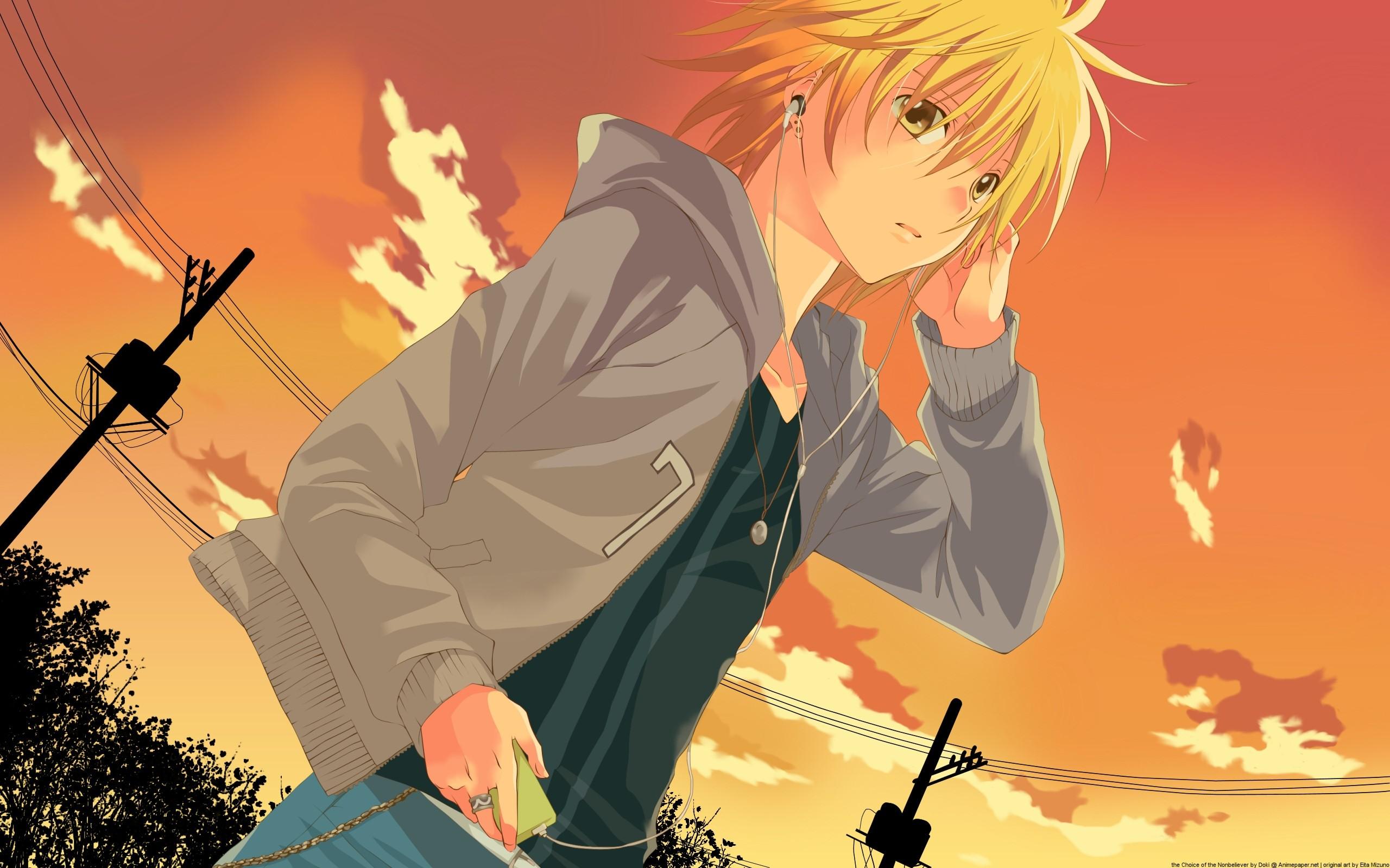 2560x1600 Cool Guy Anime Wallpaper 7 Desktop Background