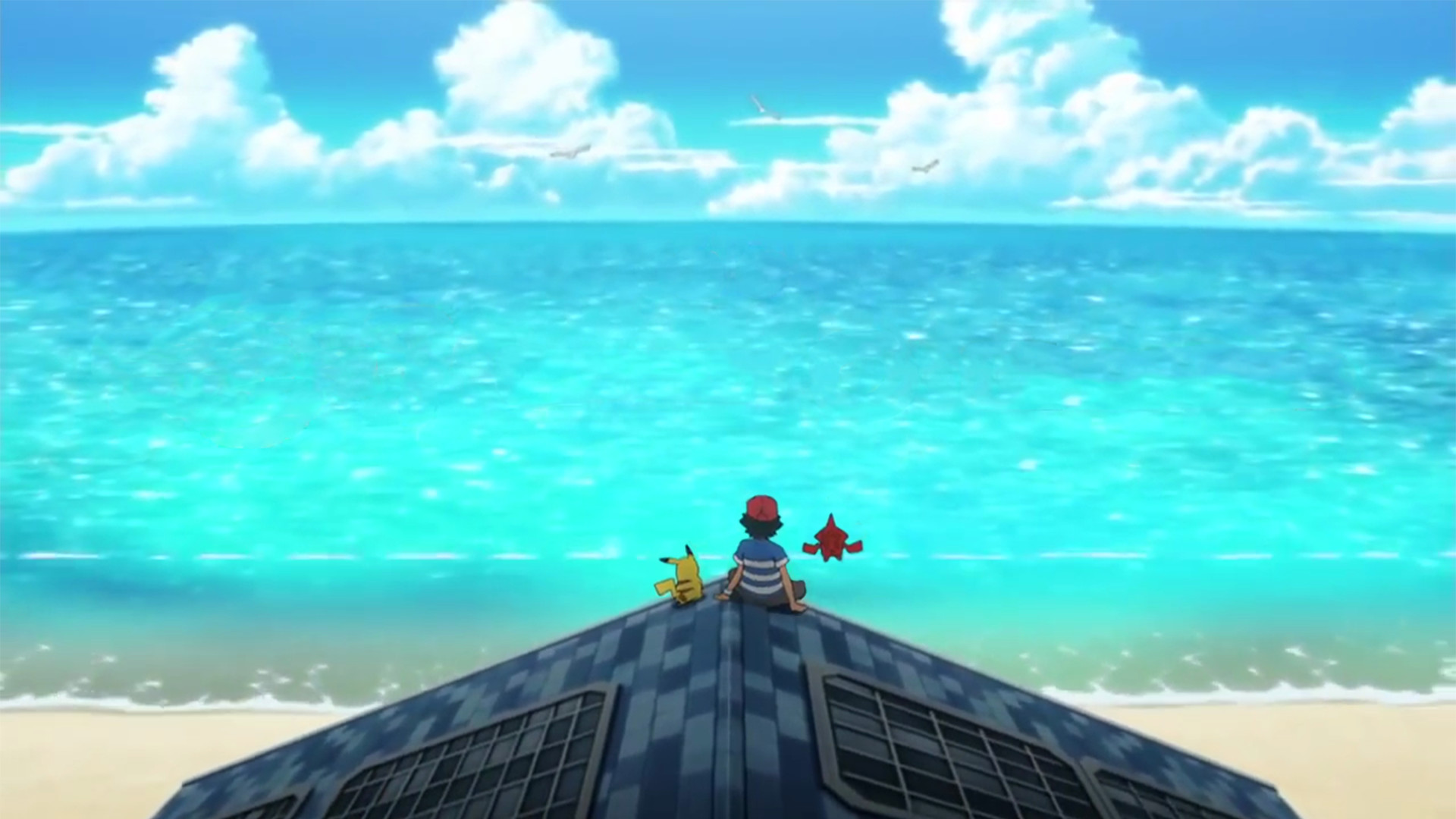 1920x1080 Pokémon: Sun & Moon - Anime Intro Wallpaper (1080p) (Scaled)