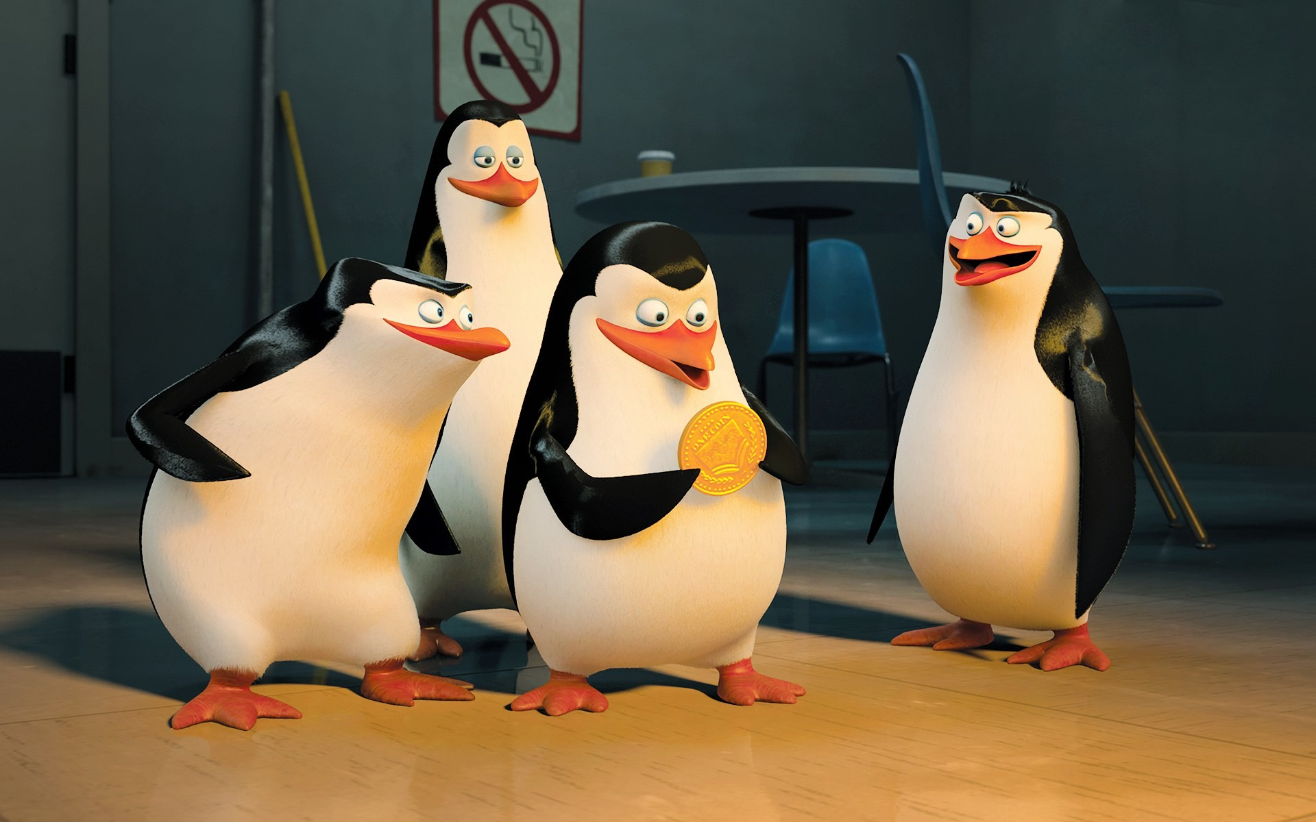 Penguins of madagascar wallpapers 67 images - Madagascar wallpaper ...