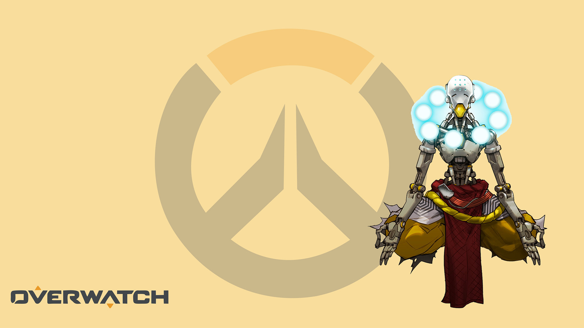 1920x1080 Overwatch Zenyatta Wallpapers Phone