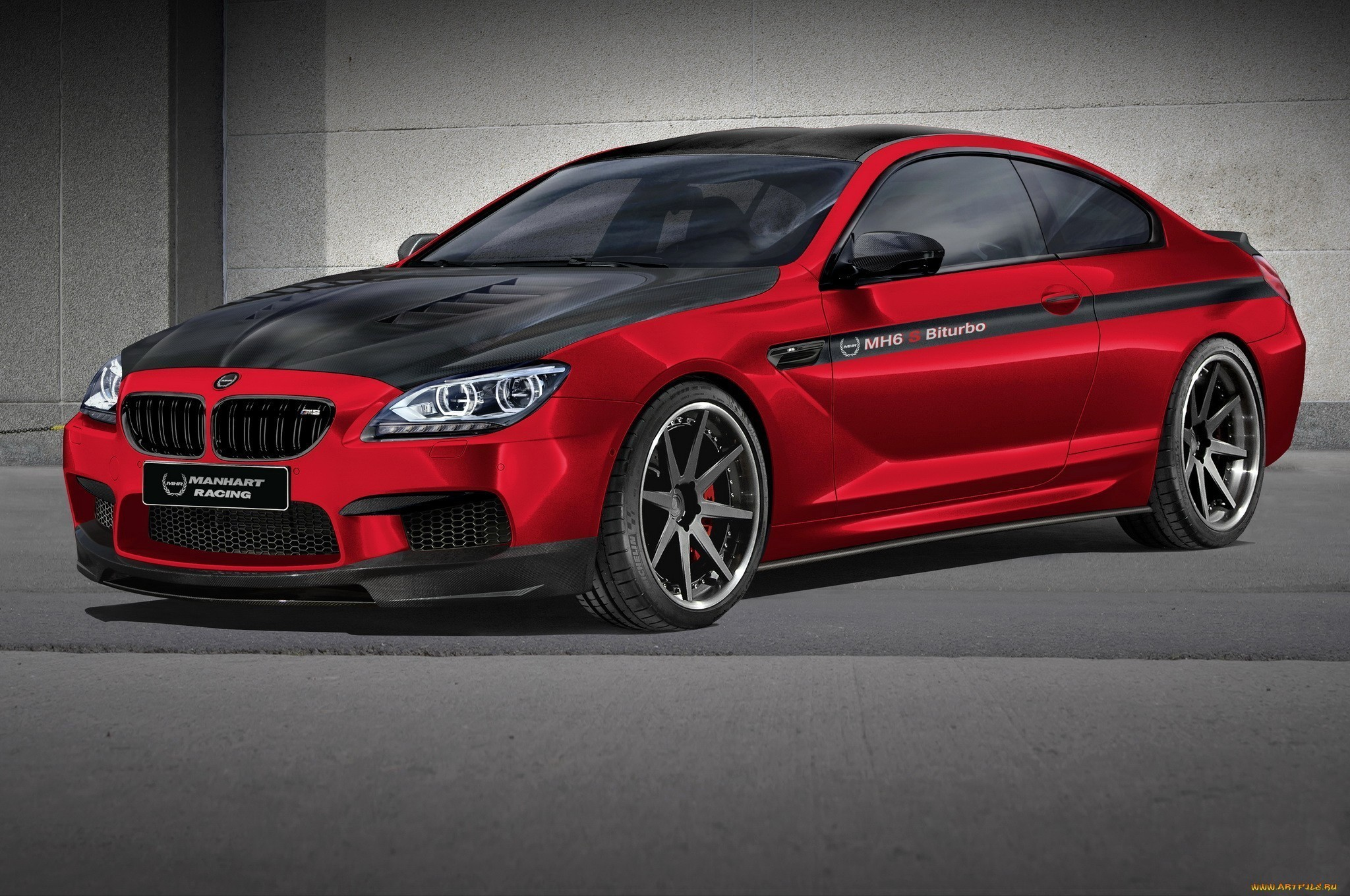 2048x1360 Bmw red cars wallpaper