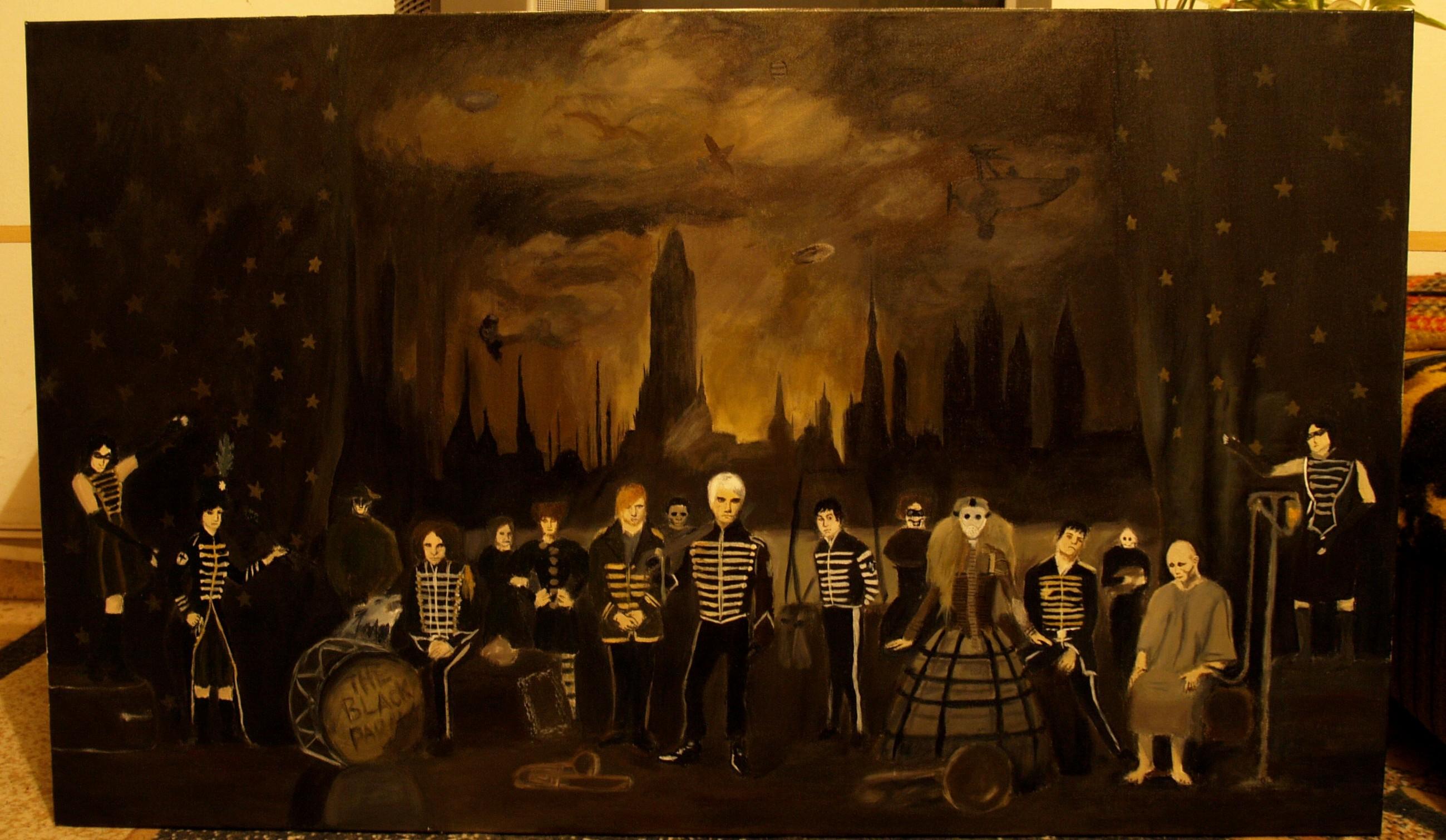 Wallpaper Black Parade