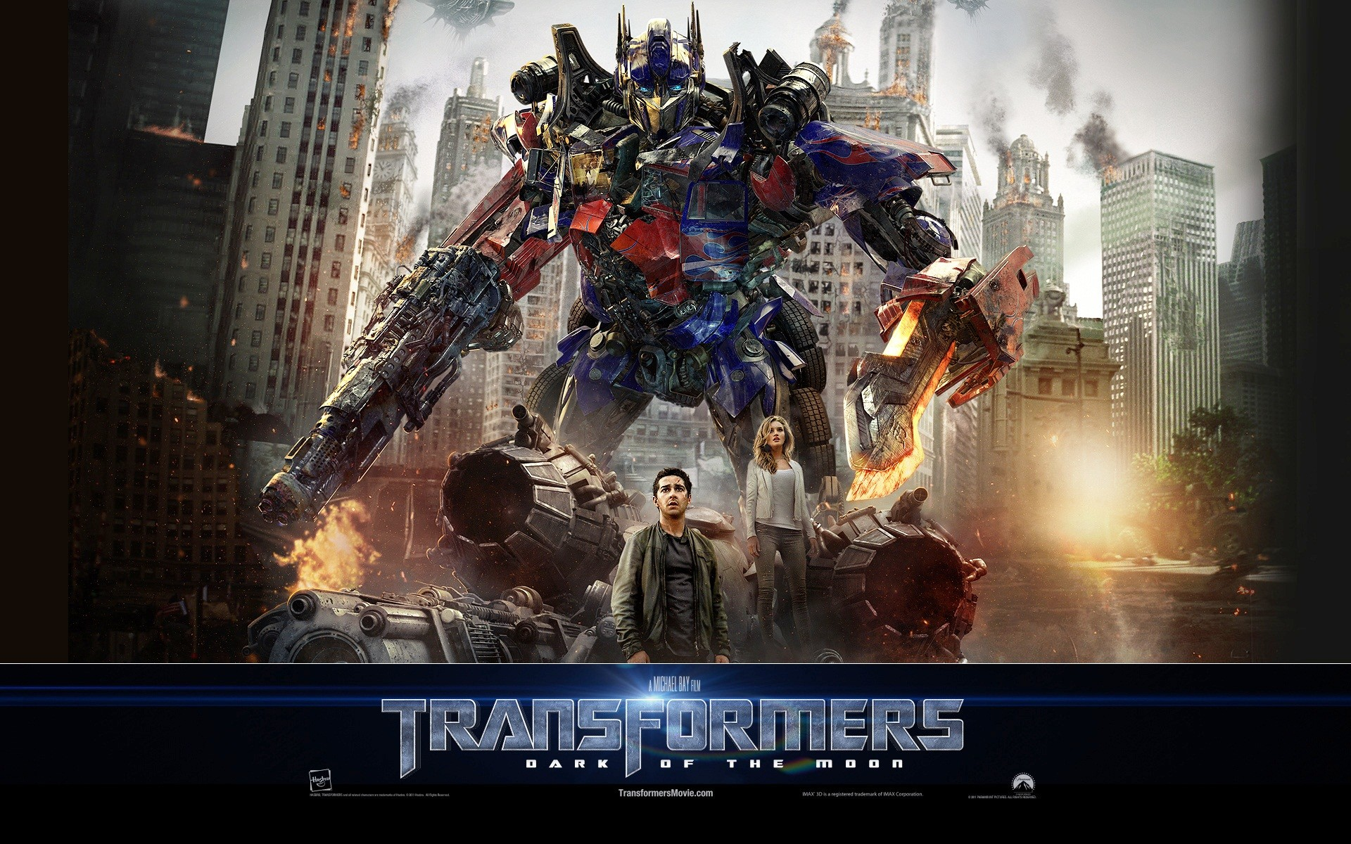 1920x1200 Optimus Prime Transformers 3 Dark of The Moon