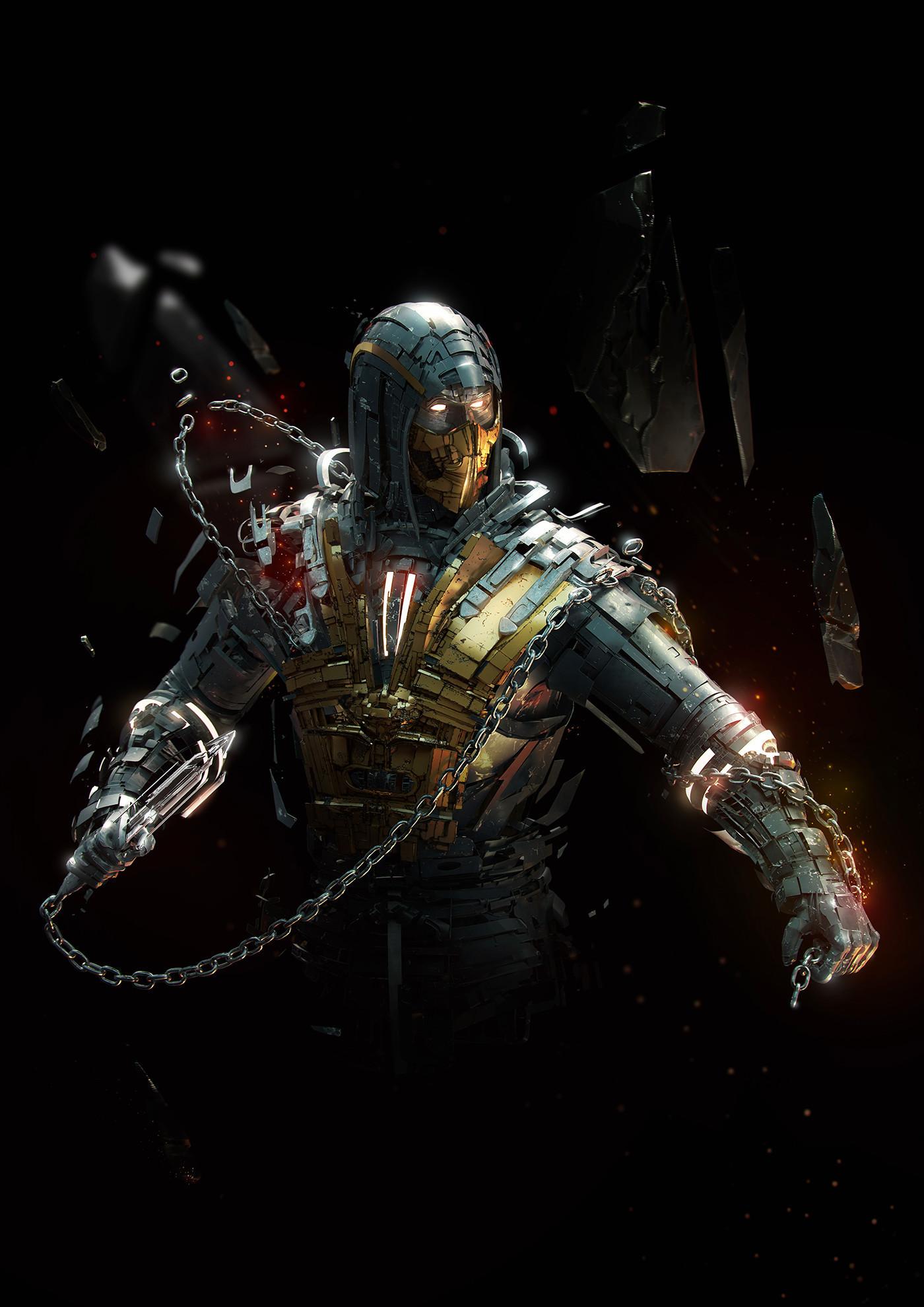 Mortal Kombat X Scorpion Wallpaper (74+ images)