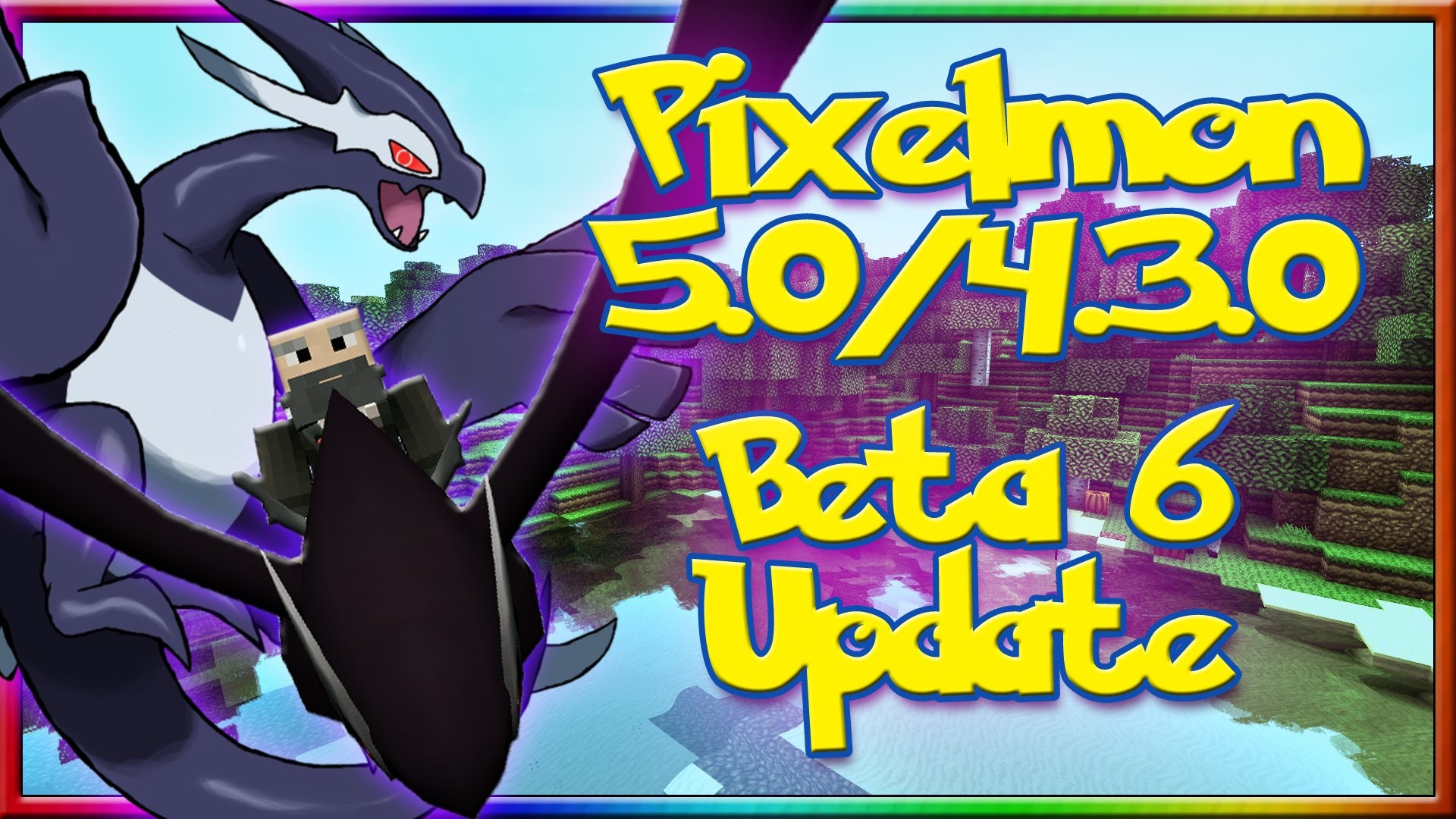 1920x1080 PIXELMON 5.0 BETA 6 UPDATE REVIEW - NEW SHADOW LUGIA!? POKEMON EDITOR! NEW  RECIPES! - YouTube