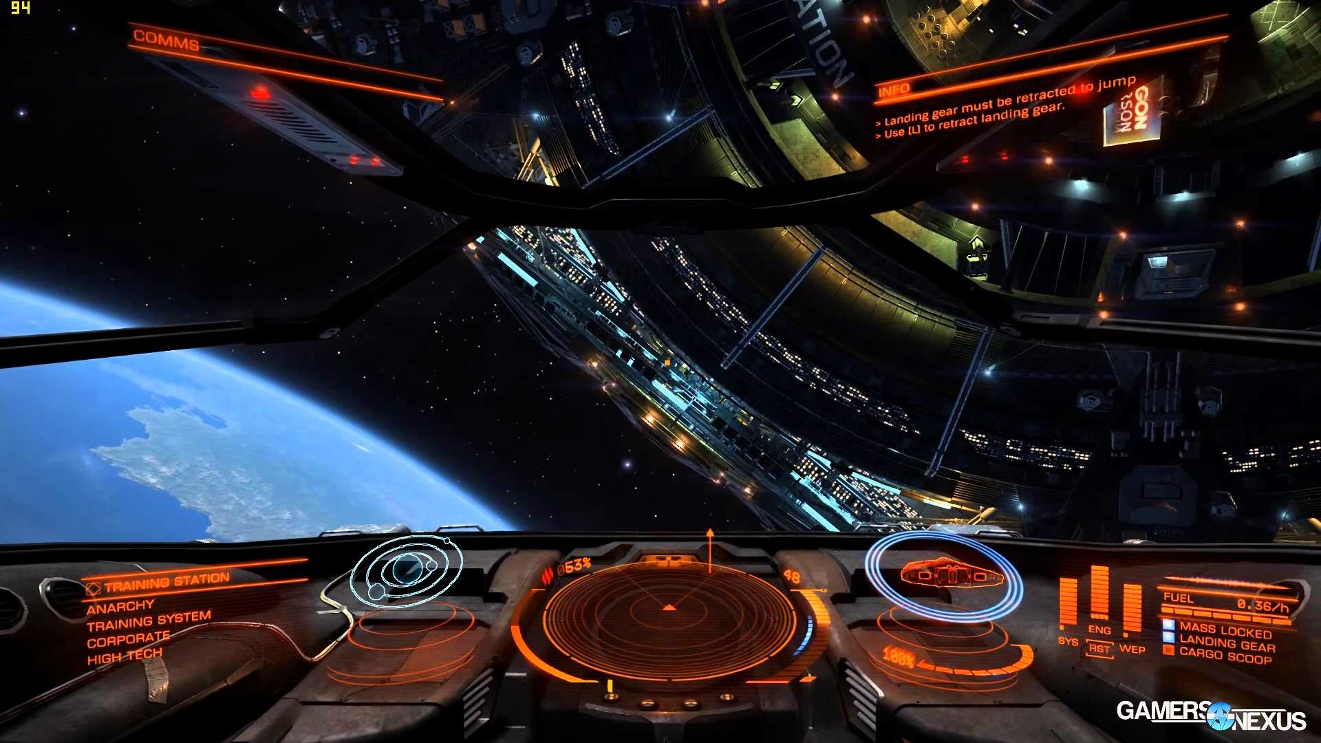 1920x1080 Elite: Dangerous 1080 & 4K GPU Benchmark FPS