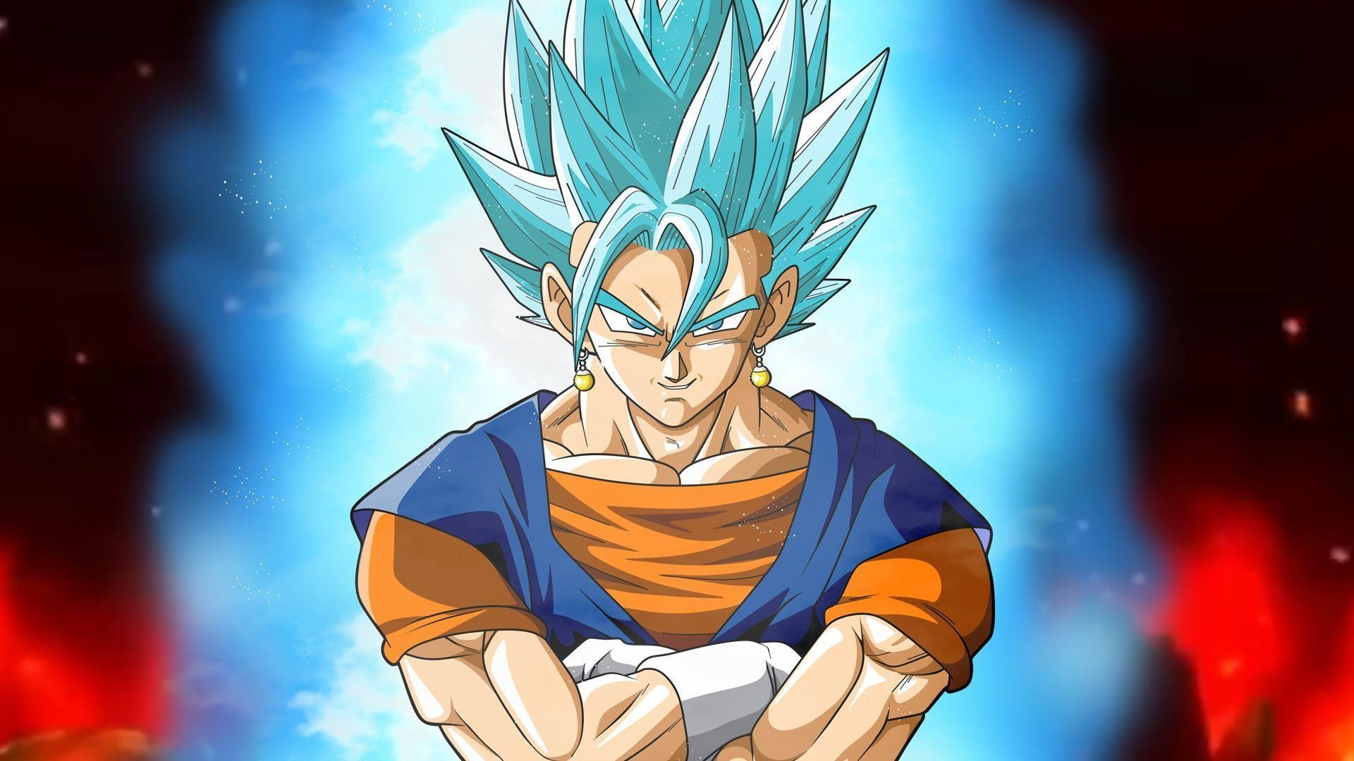Super saiyan 4 goku and vegeta wallpapers 60 images - Goku 5 super saiyan ...