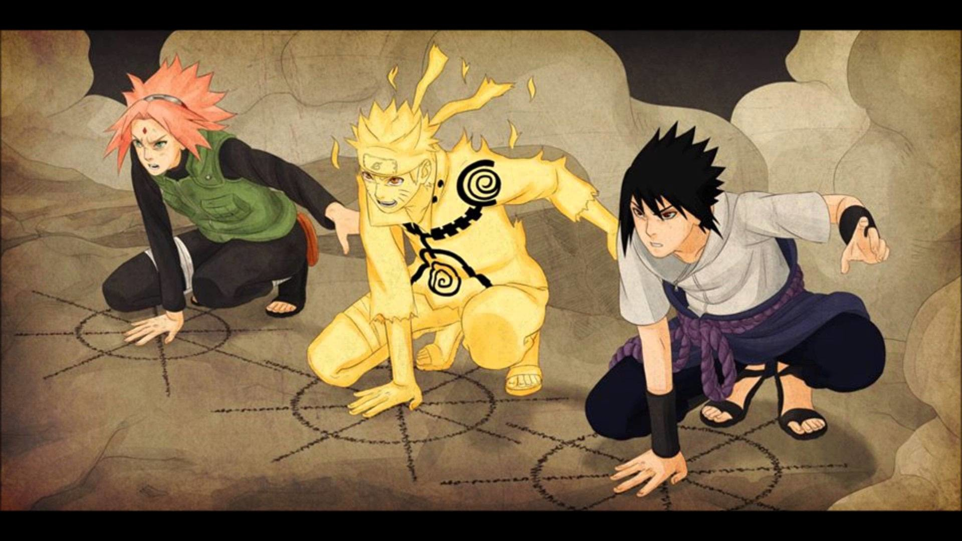 Naruto team 7 wallpapers 62 images - Anime wallpaper hd iphone 7 ...