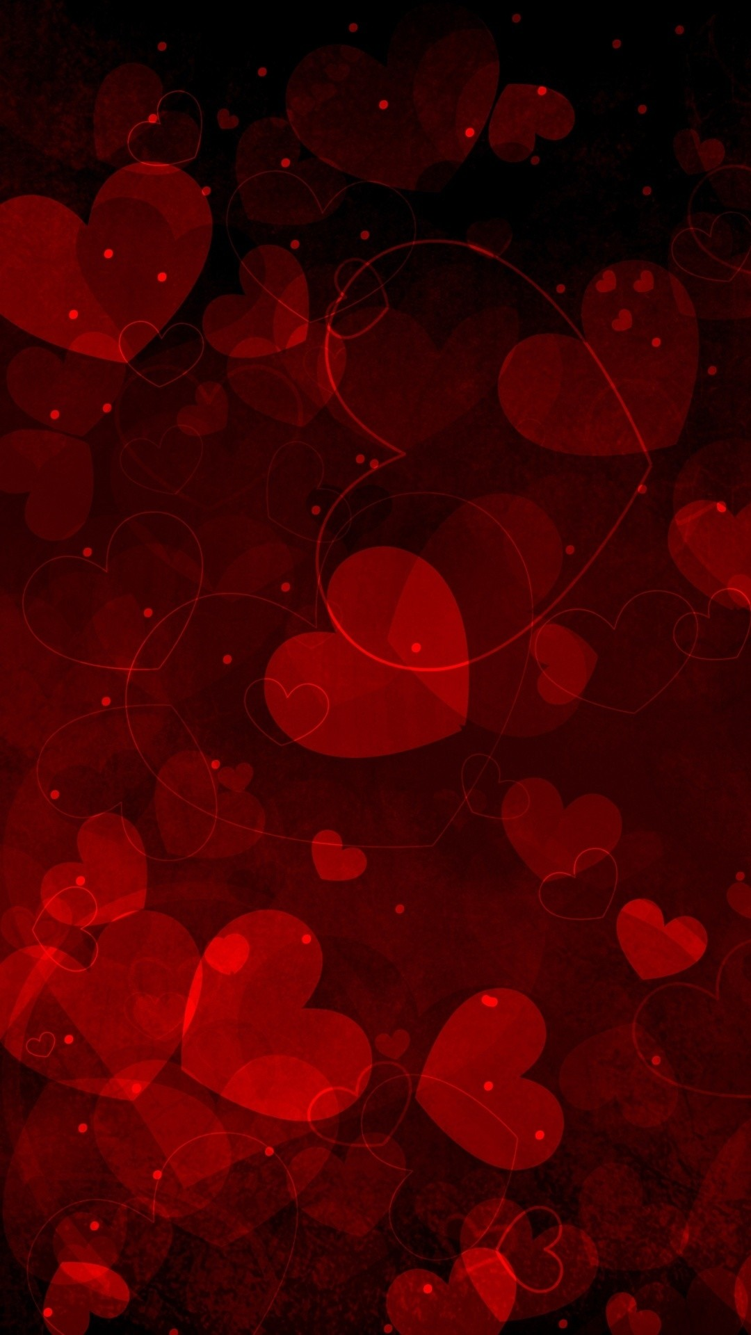 1080x1920 Click here to download  pixel Valentines Day Pretty Hearts Galaxy  Note HD Wallpaper