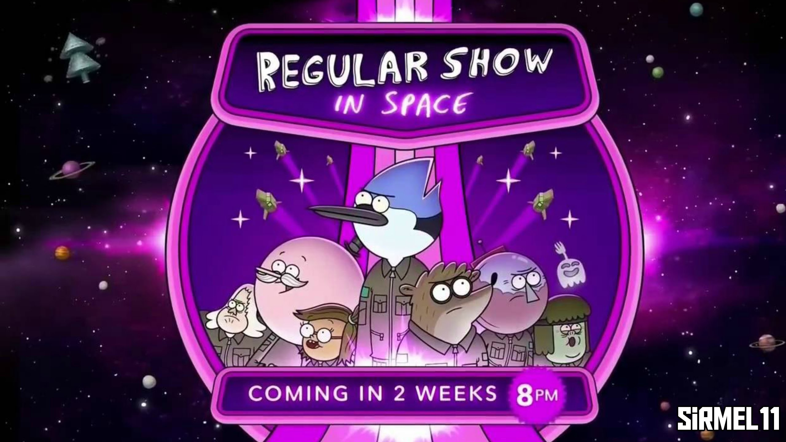 2560x1440 Regular Show in Space Coming September 26th, 2016 (Regular Show Season 8) -  YouTube