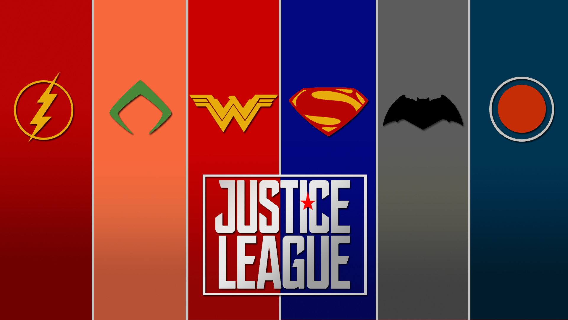 1920x1080 FAN-MADEMade a quick Justice League wallpaper ...