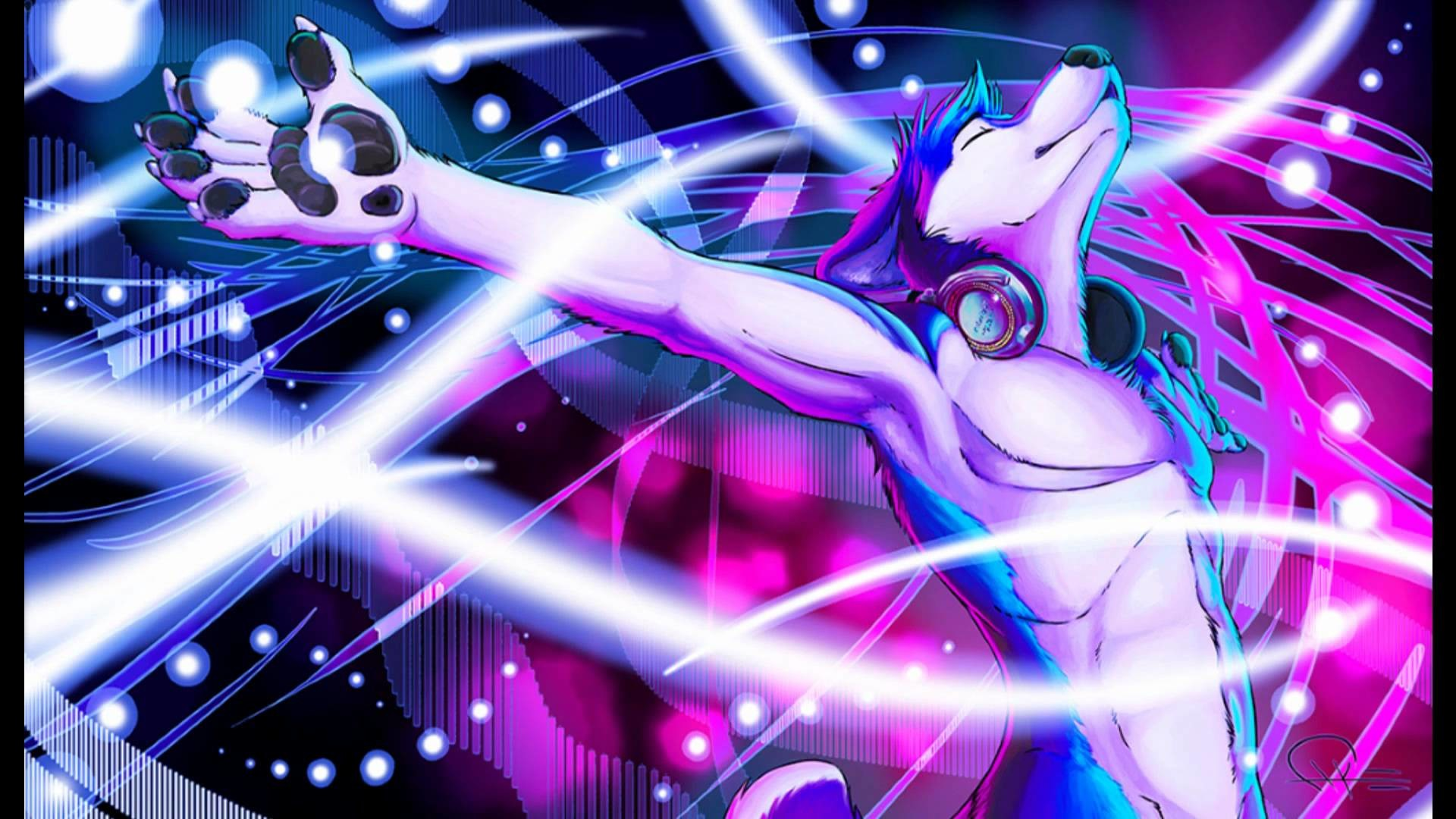 1920x1080 Furry Rave Wolf The furry thread