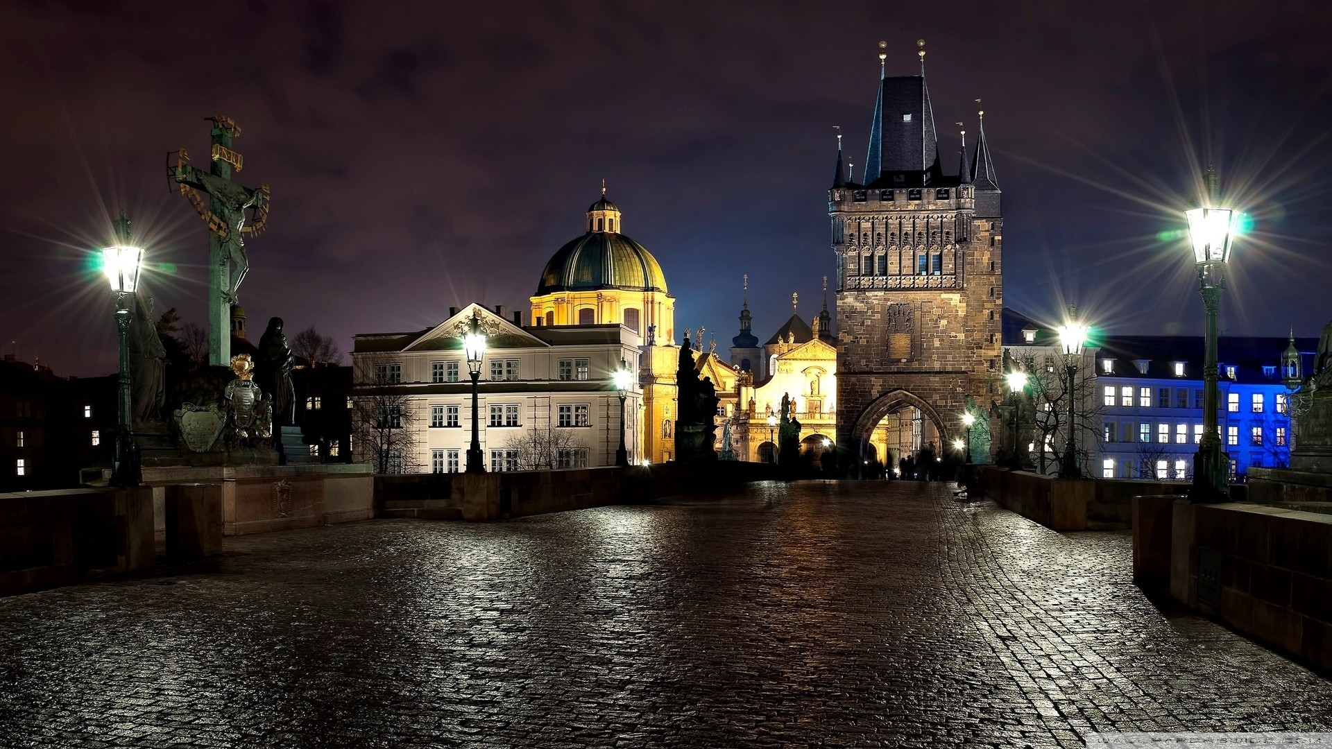 1920x1080 ... charles bridge hd desktop wallpaper widescreen high definition ...