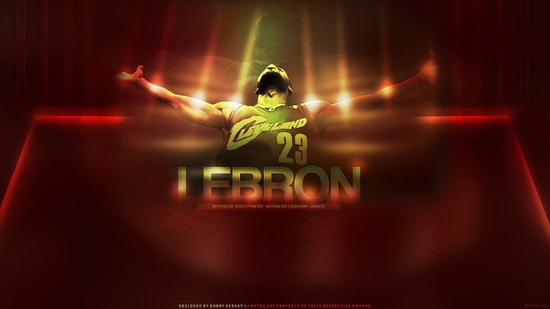 1920x1080 Lebron James Cleveland 23 Wallpapers.
