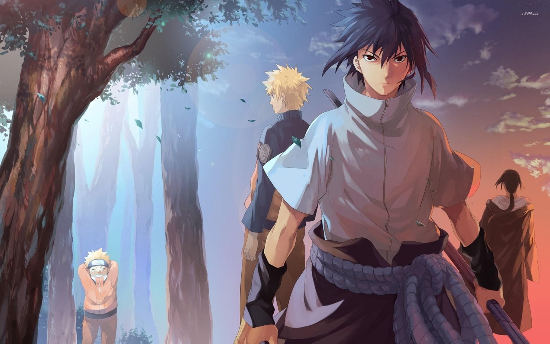 Cartoon Wallpaper Sasuke Vs Itachi Wallpaper: Naruto Vs Sasuke Wallpaper (57+ Images