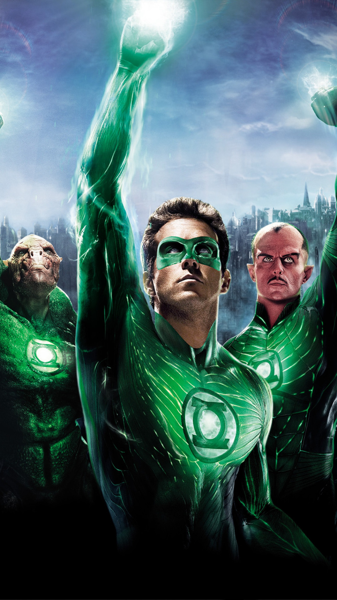 It is a photo of Decisive Pictures of Green Lantern