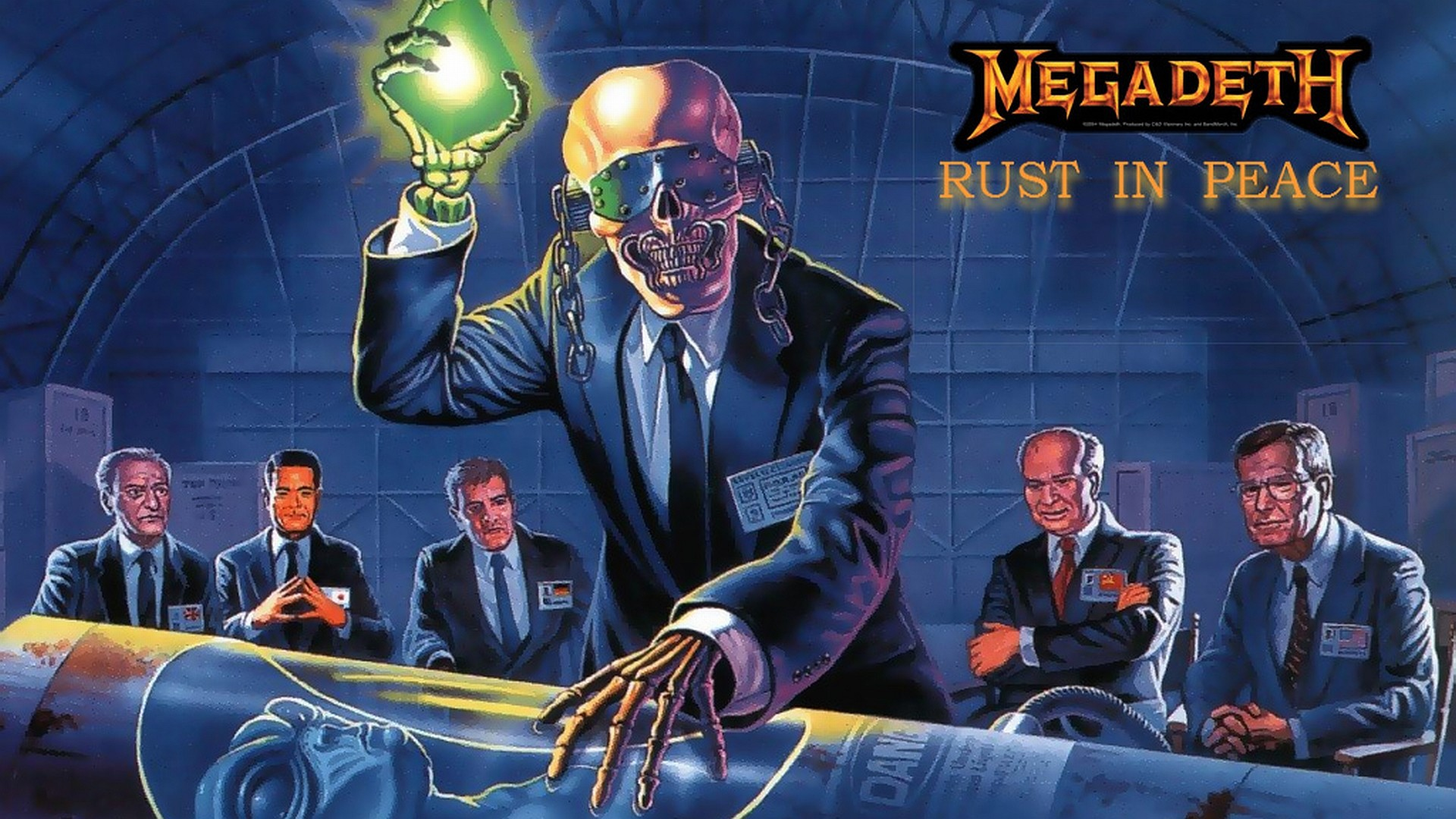 1920x1080 Free megadeth wallpaper background