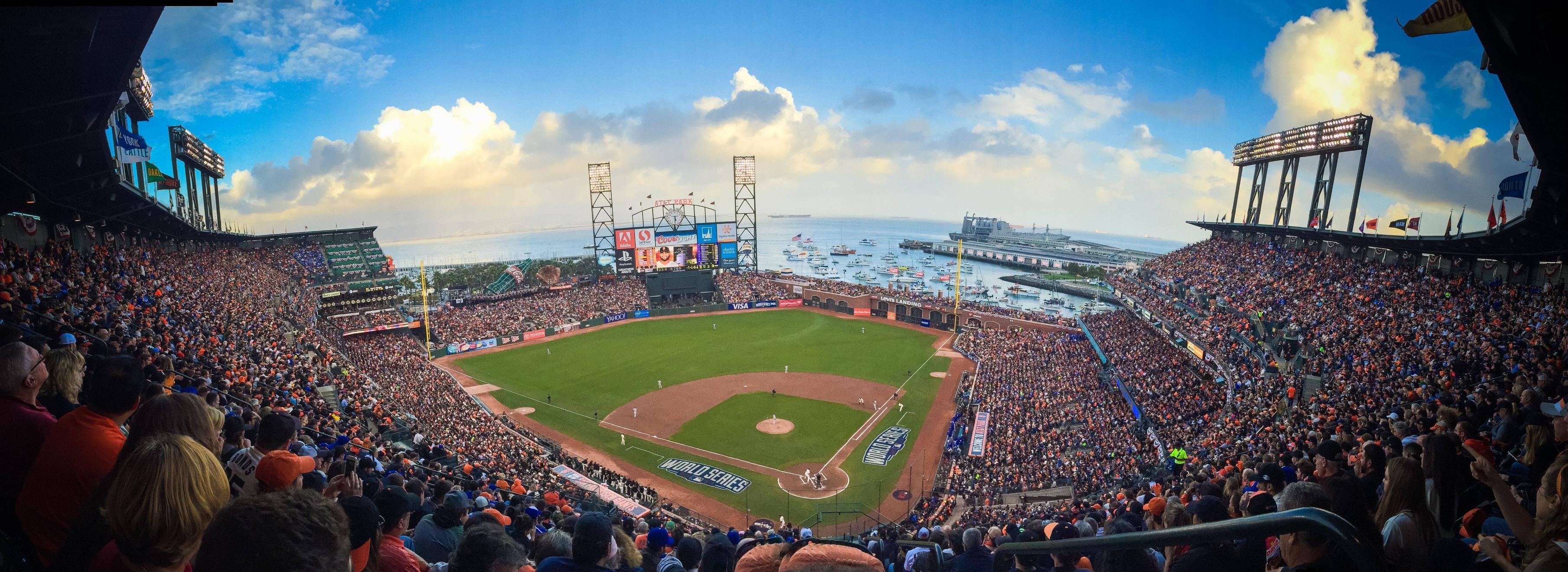 San Francisco Giants Stadium Wallpaper: Sf Giants 2018 Schedule Wallpaper (61+ Images