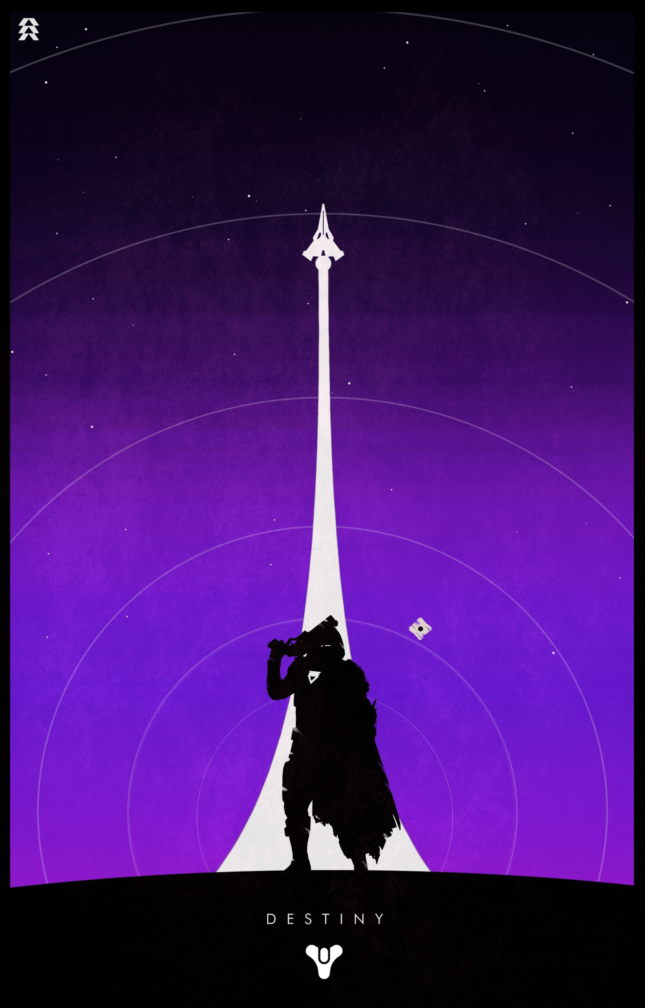 2160x3375 Gunslinger Hunter (Purple Background)