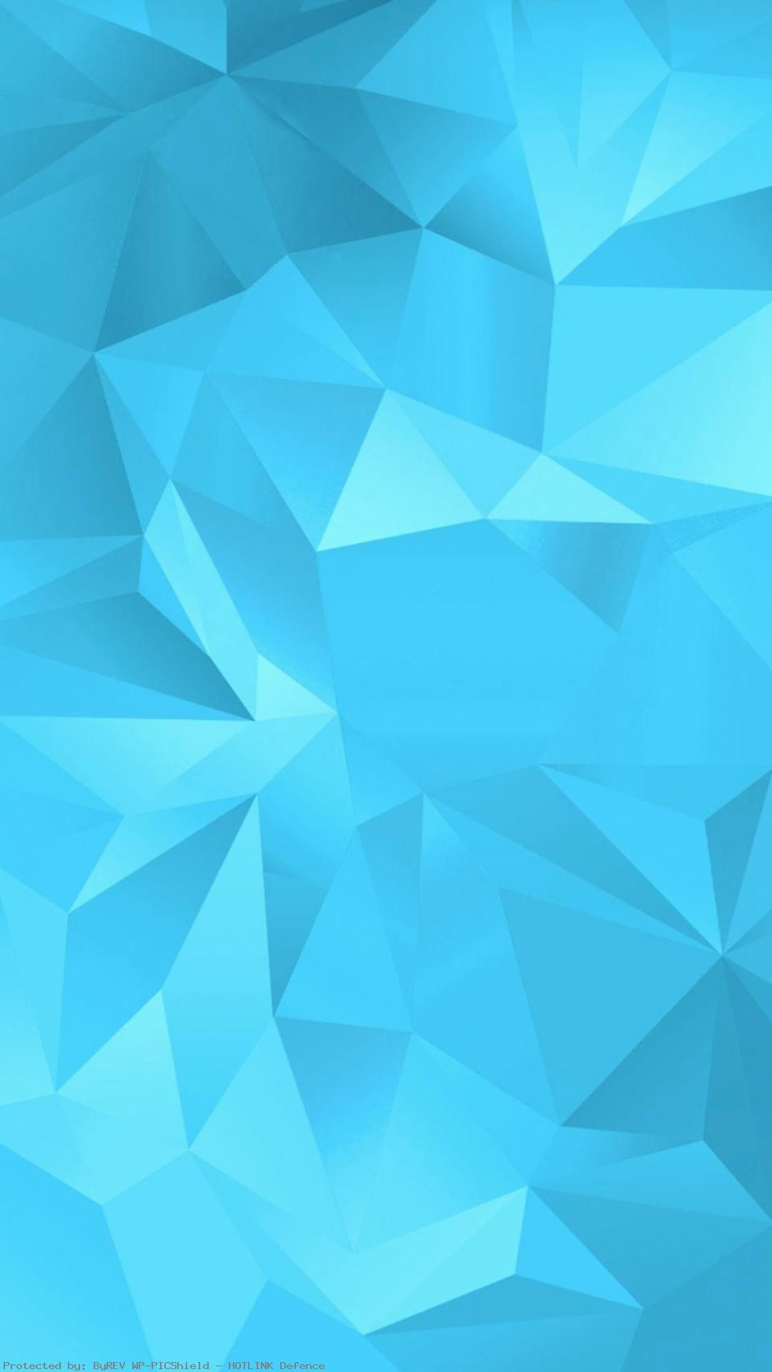1080x1920 Simple-Blue-Fold-Polygon-Pattern-iPhone-plus-wallpaper-