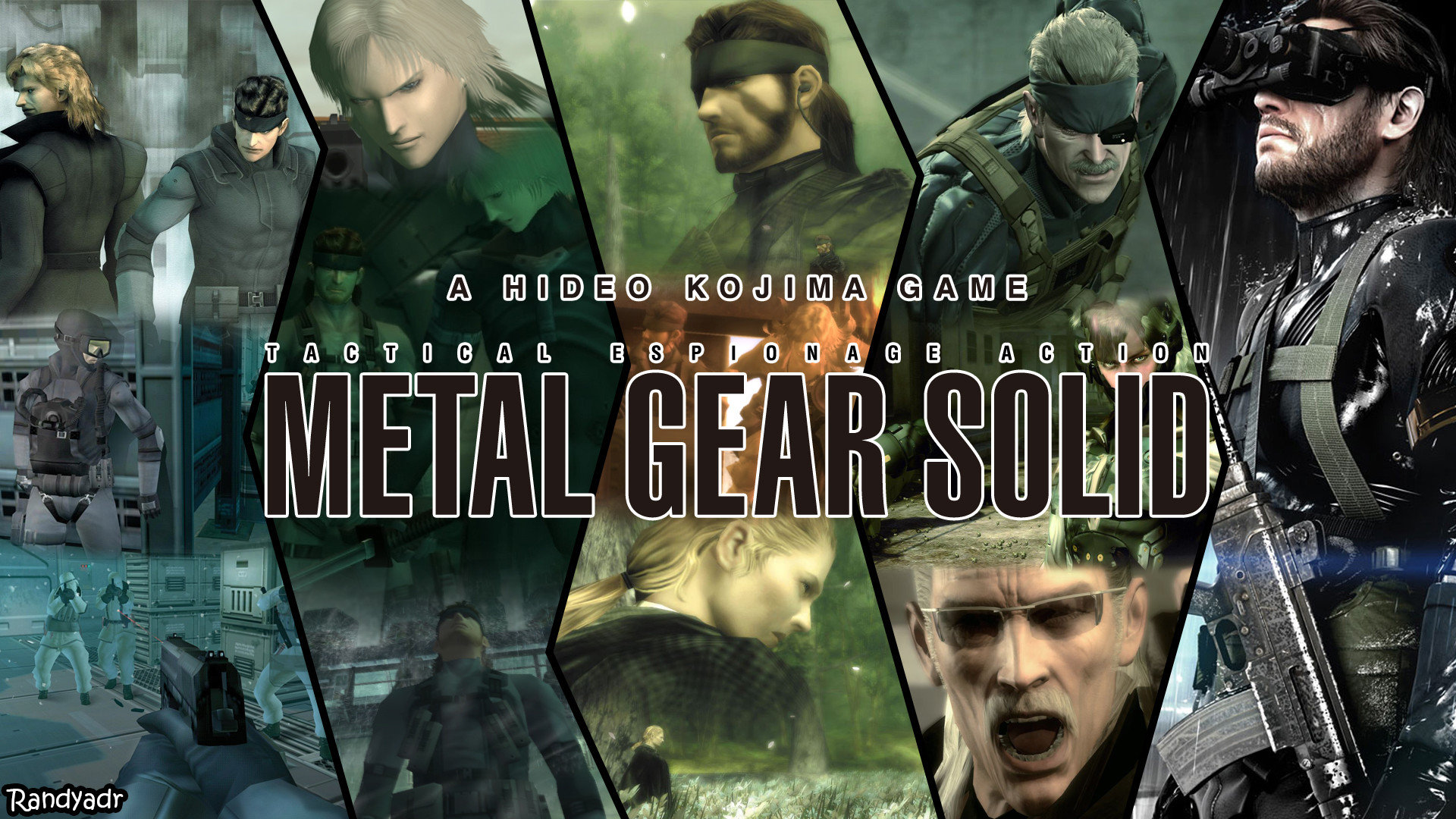 1920x1080 ... Metal Gear Solid Wallpaper Attempt by randyadr