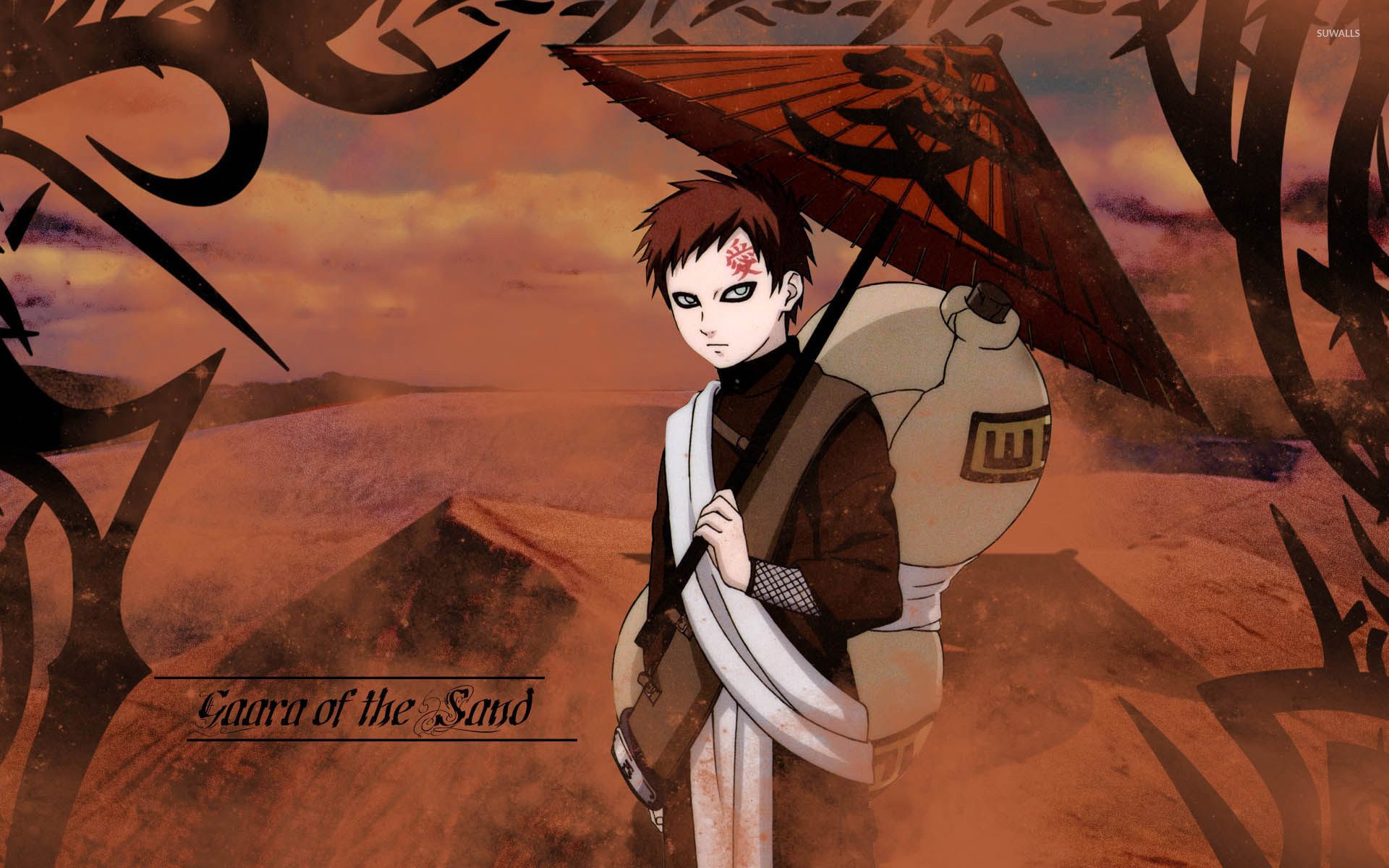 1920x1200 Gaara - Naruto [4] wallpaper