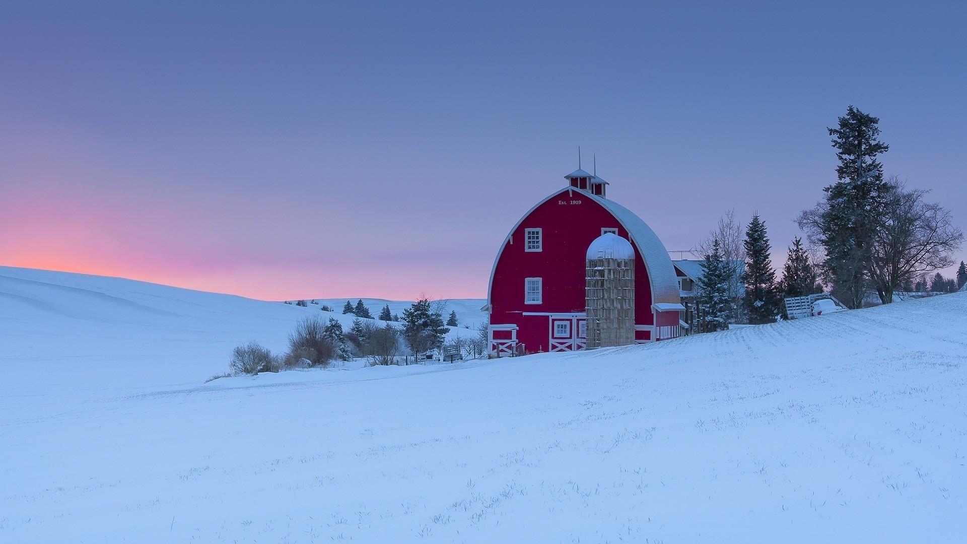 Winter Farm Wallpaper 65 Images