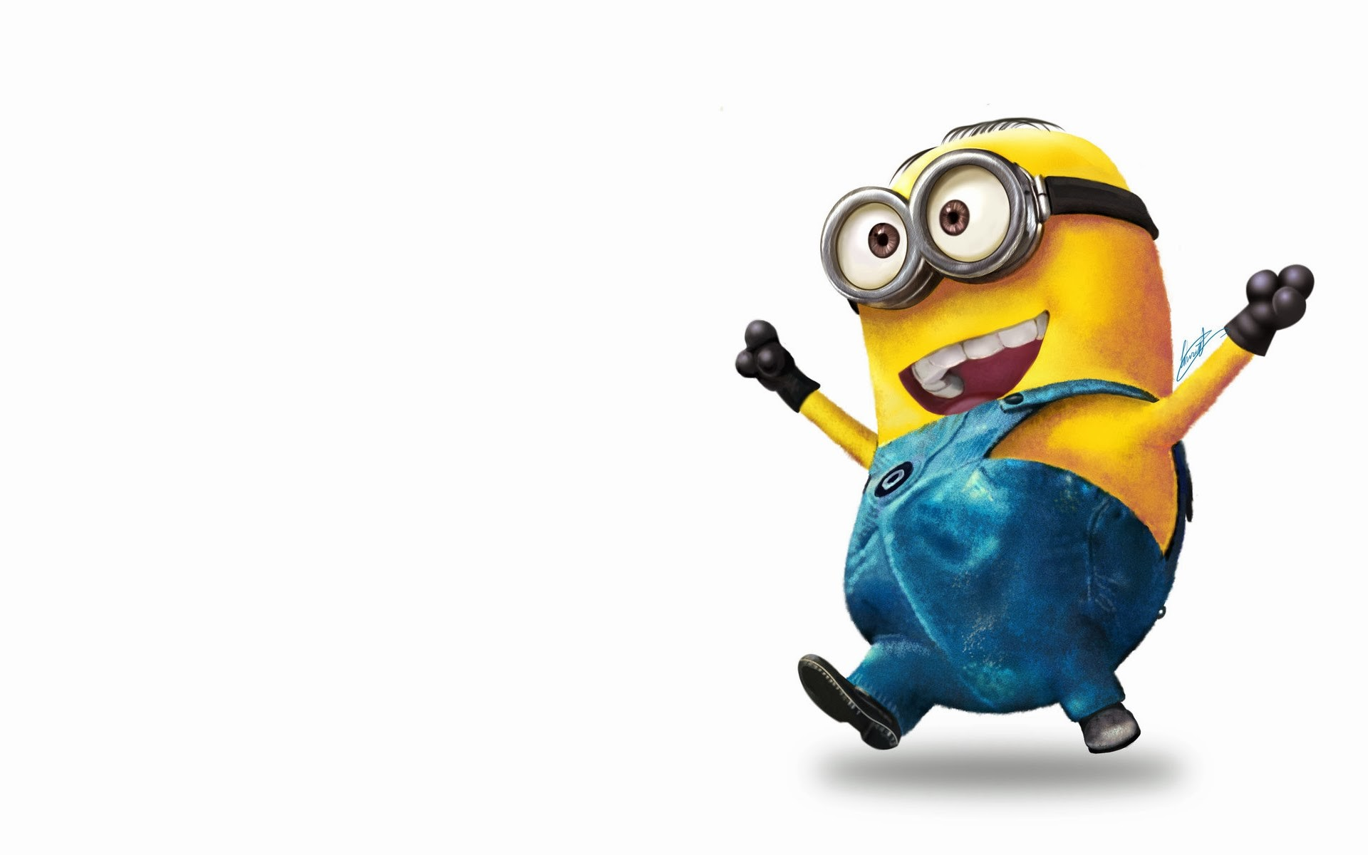 1920x1200 Minion Cute Wallpaper HD.