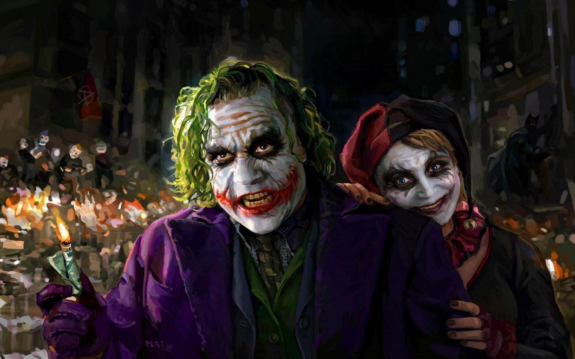 Joker And Harley Quinn Wallpaper 71 Images