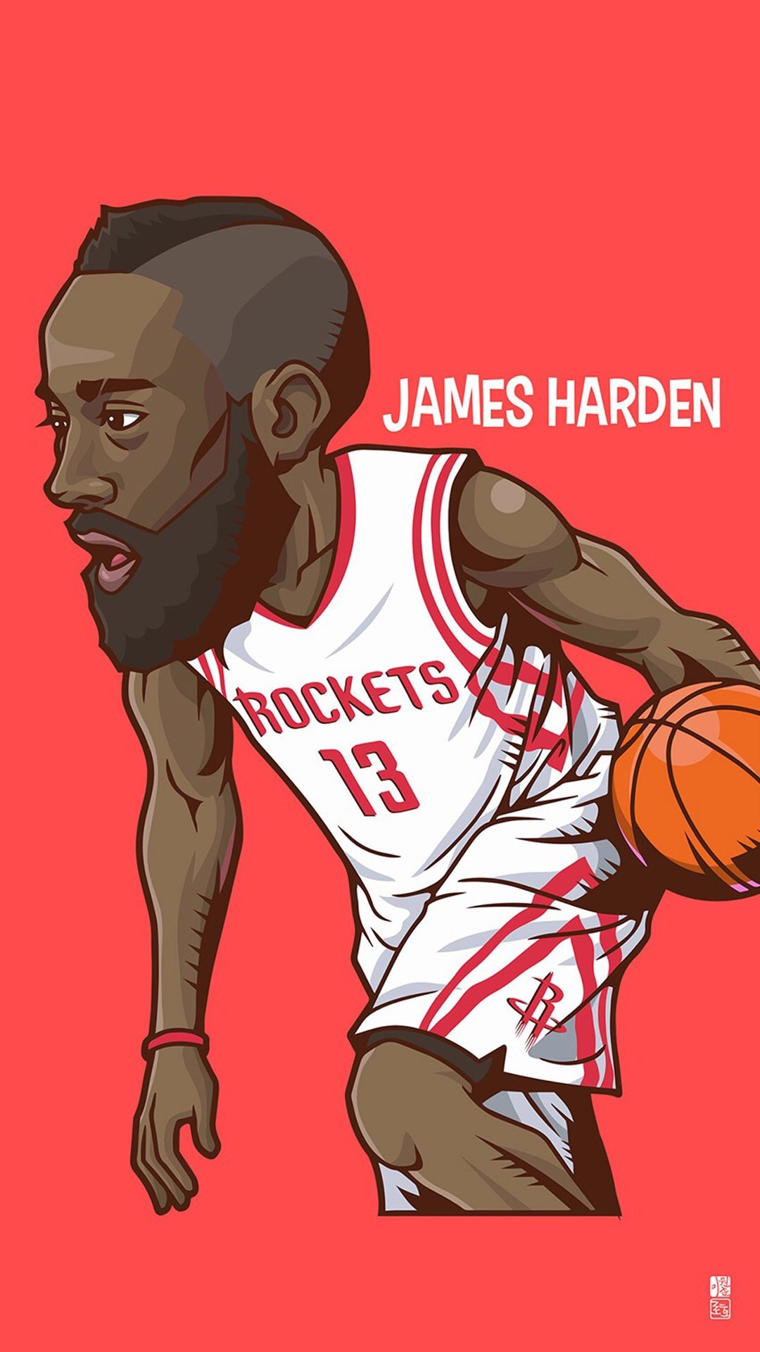 1080x1920 Tap to see Collection of Famous NBA Basketball Players Cute Cartoon  Wallpapers for
