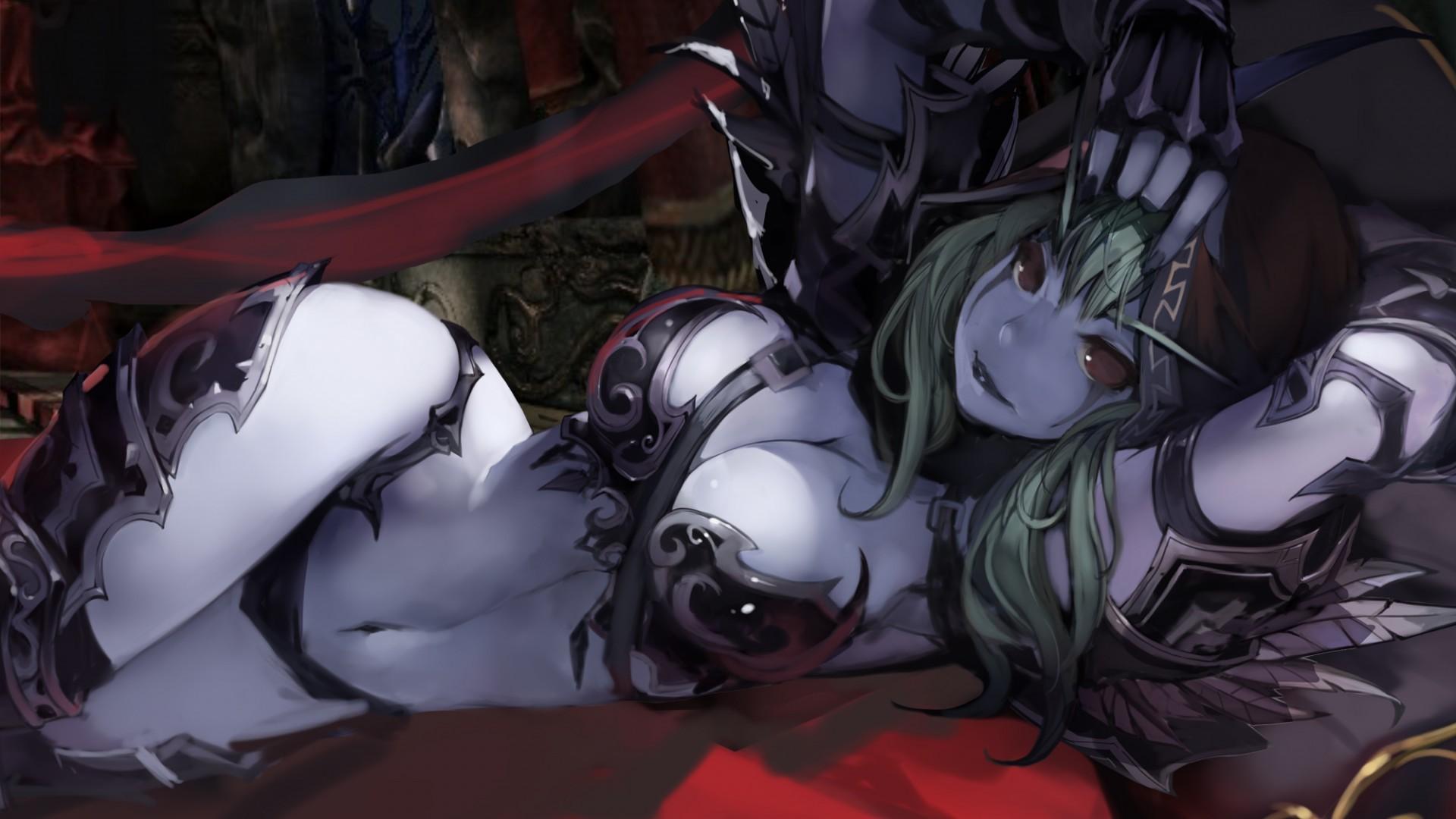 Sylvanas hentei erotica pictures