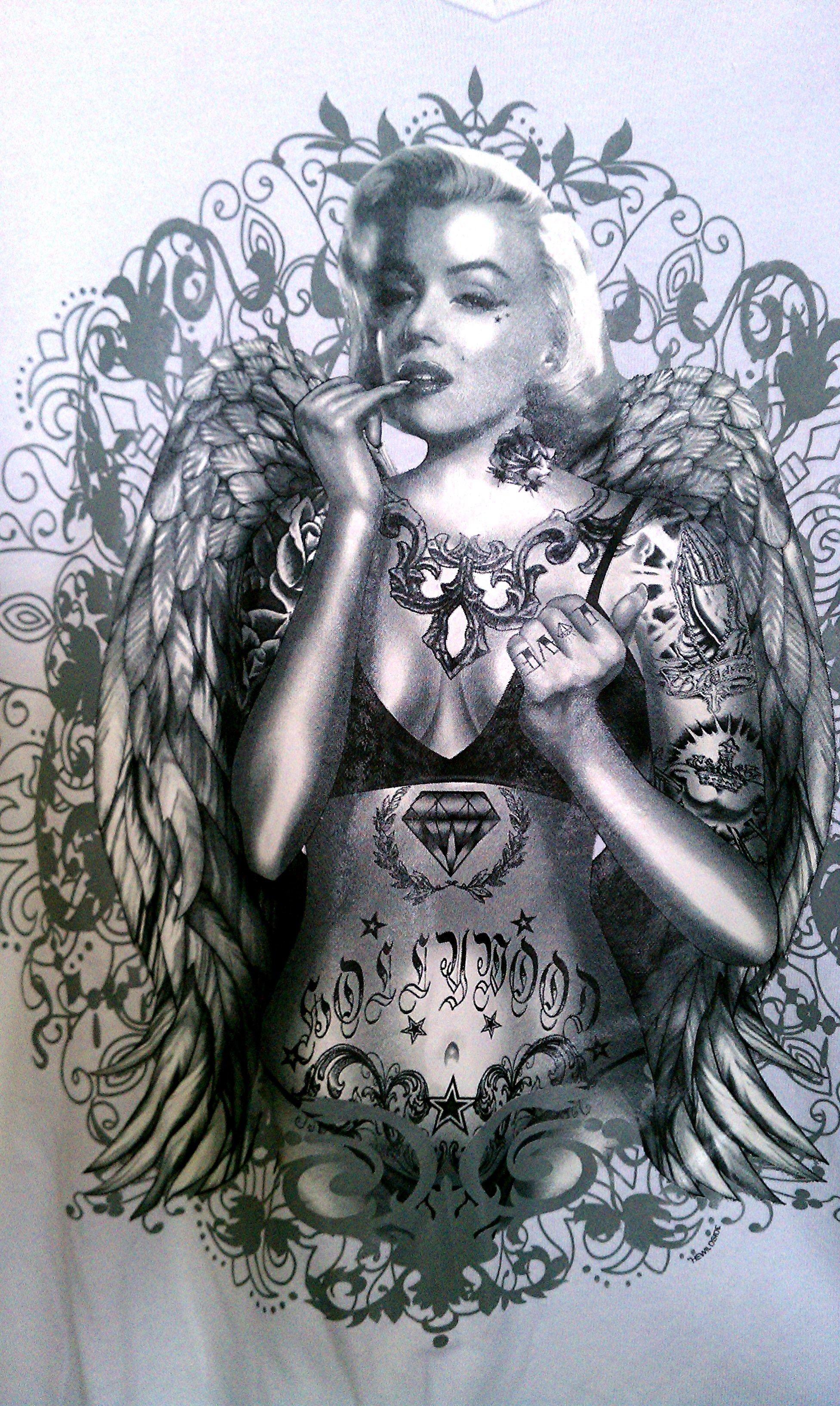 Tattooed Marilyn Monroe Wallpaper (63+