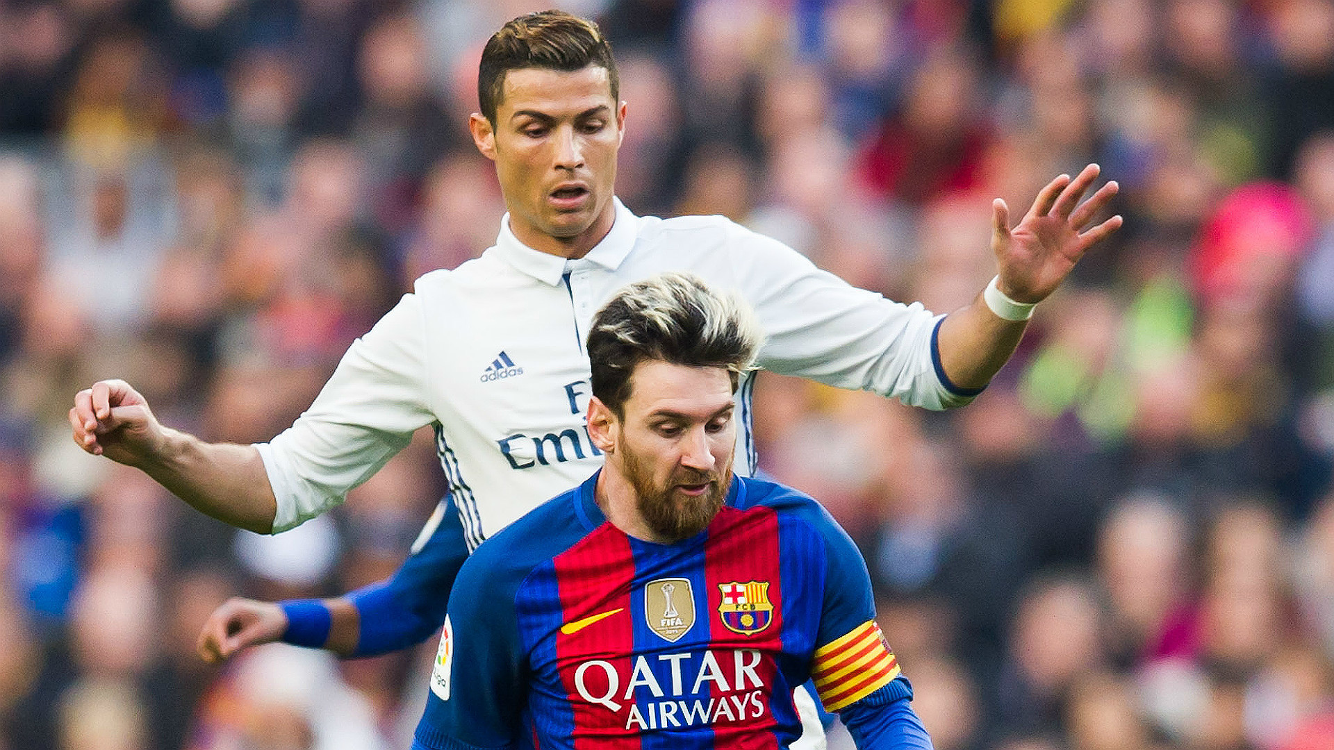 1920x1080 However, while Ronaldo has had a relatively quiet to start to Madrid's bid  for a 12th European Cup triumph, netting just twice in the group stage,  Messi has ...
