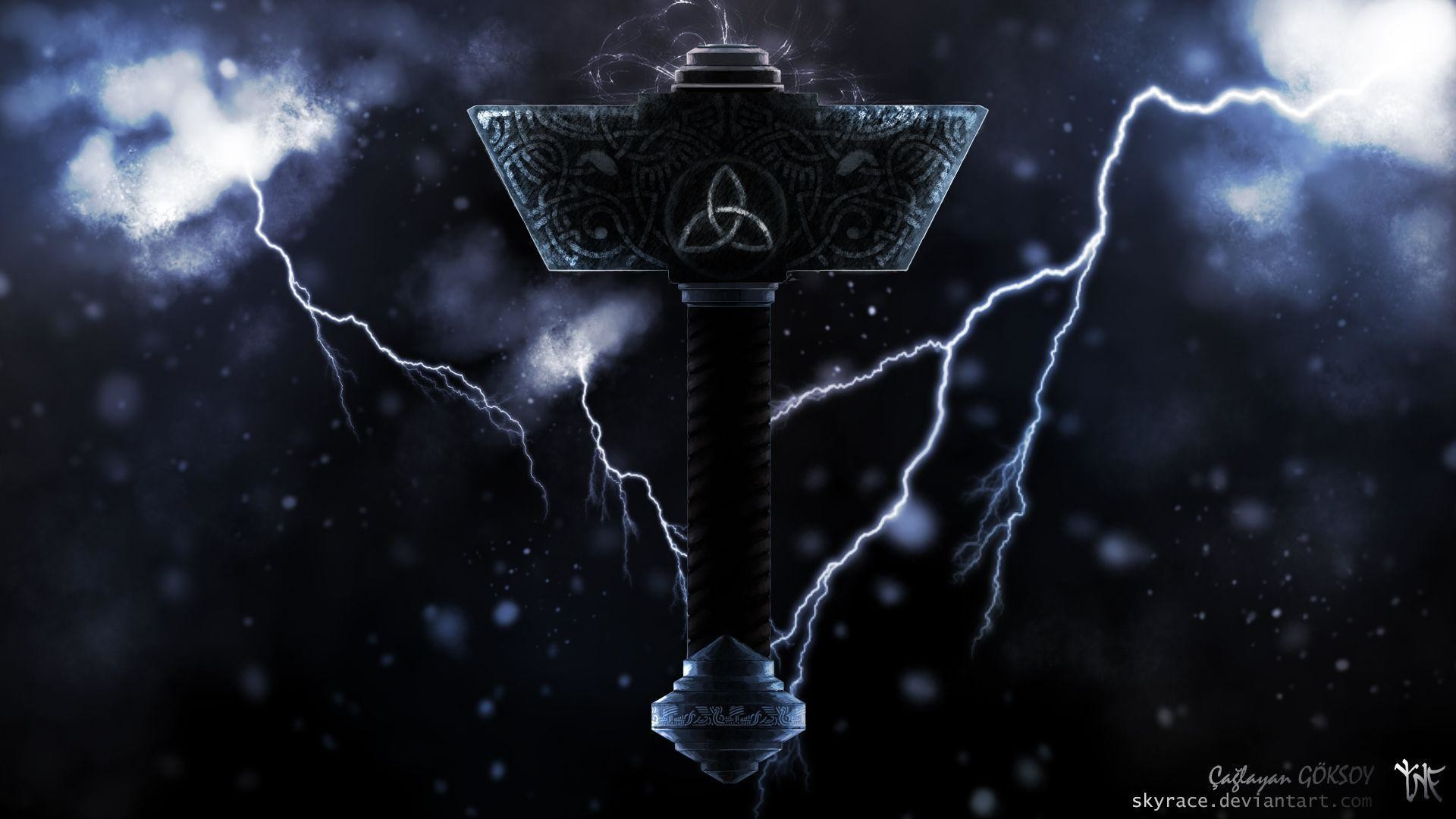 Mjolnir Wallpapers 68 Images
