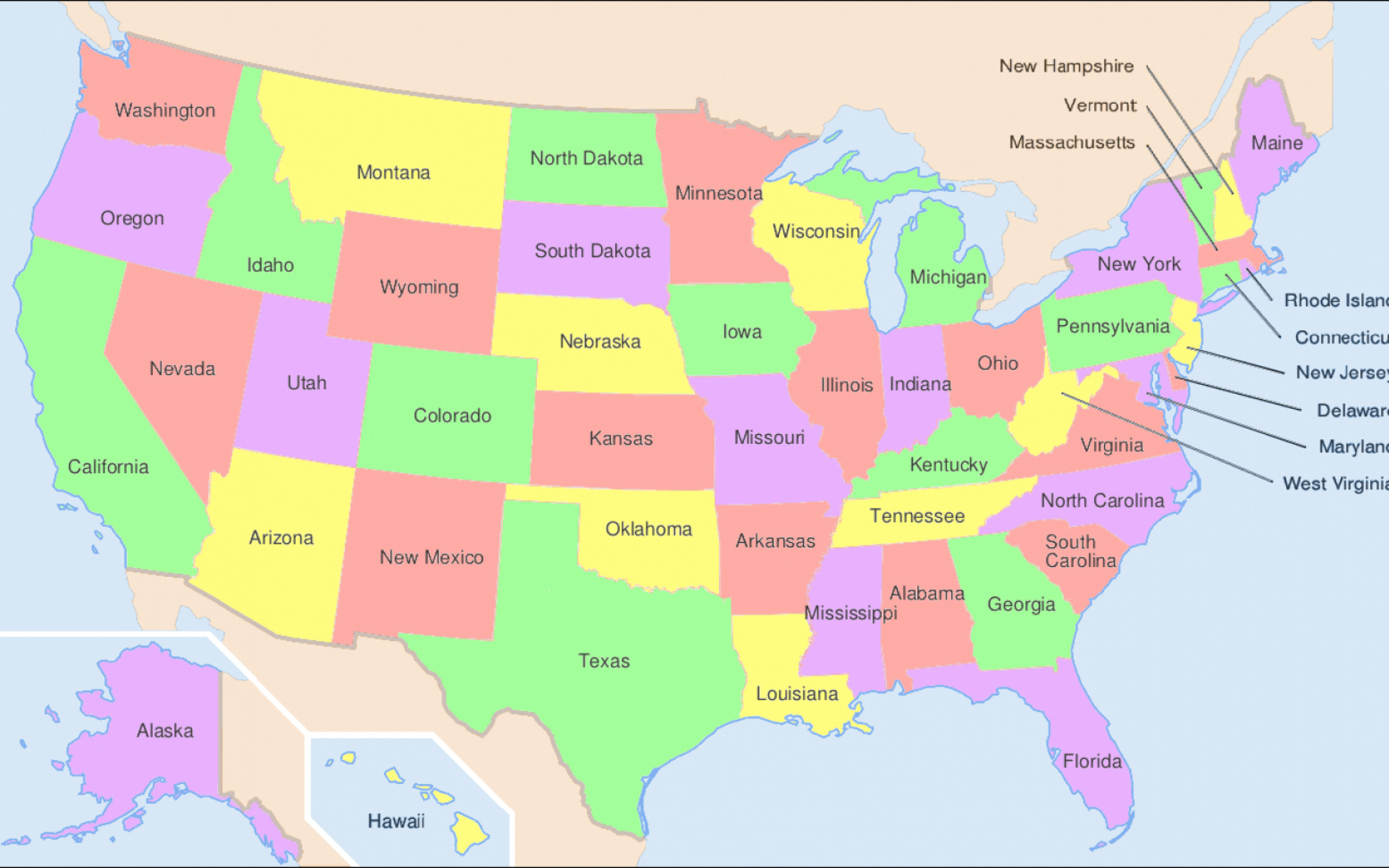 2880x1800 Usa Map United States Pictures 4129577 With Resolutions 28801800
