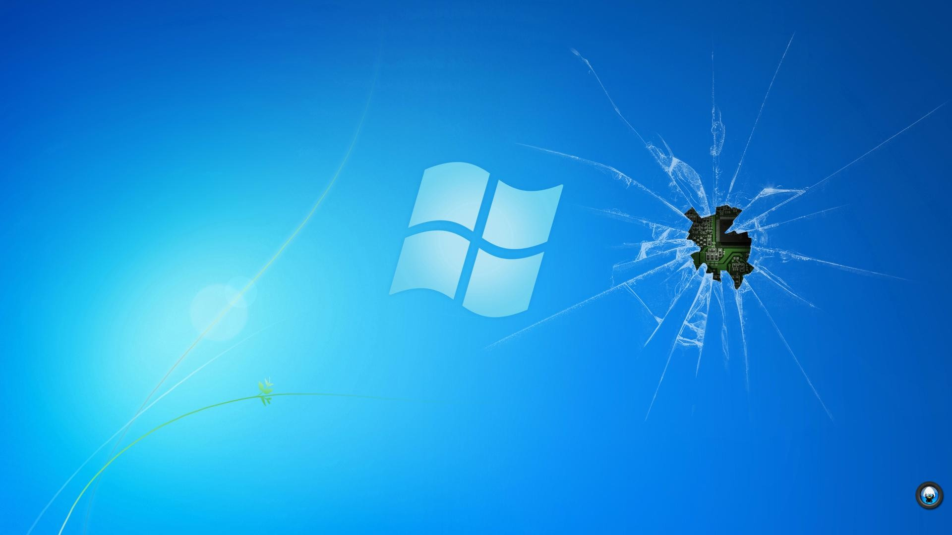 cracked computer screen background hd