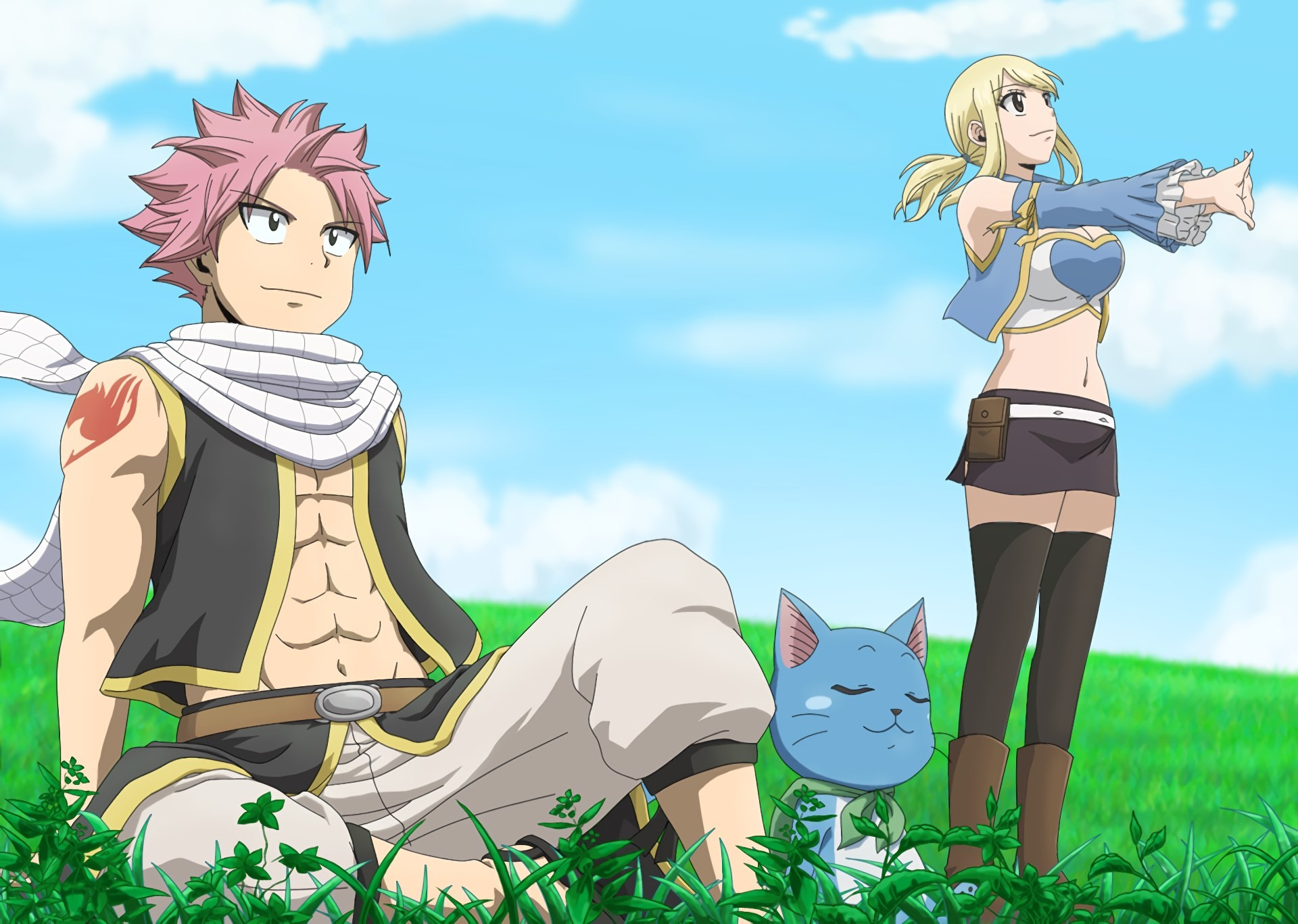 1920x1368 free desktop backgrounds for fairy tail