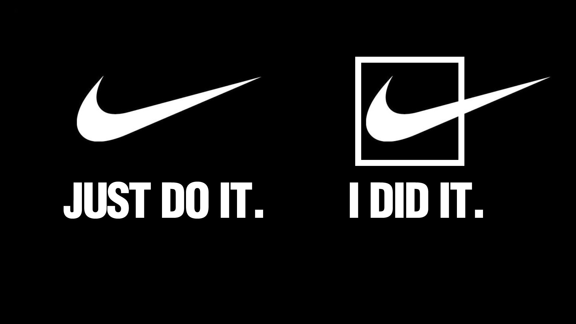 1920x1080 Nike Just Do It Fire Football HD