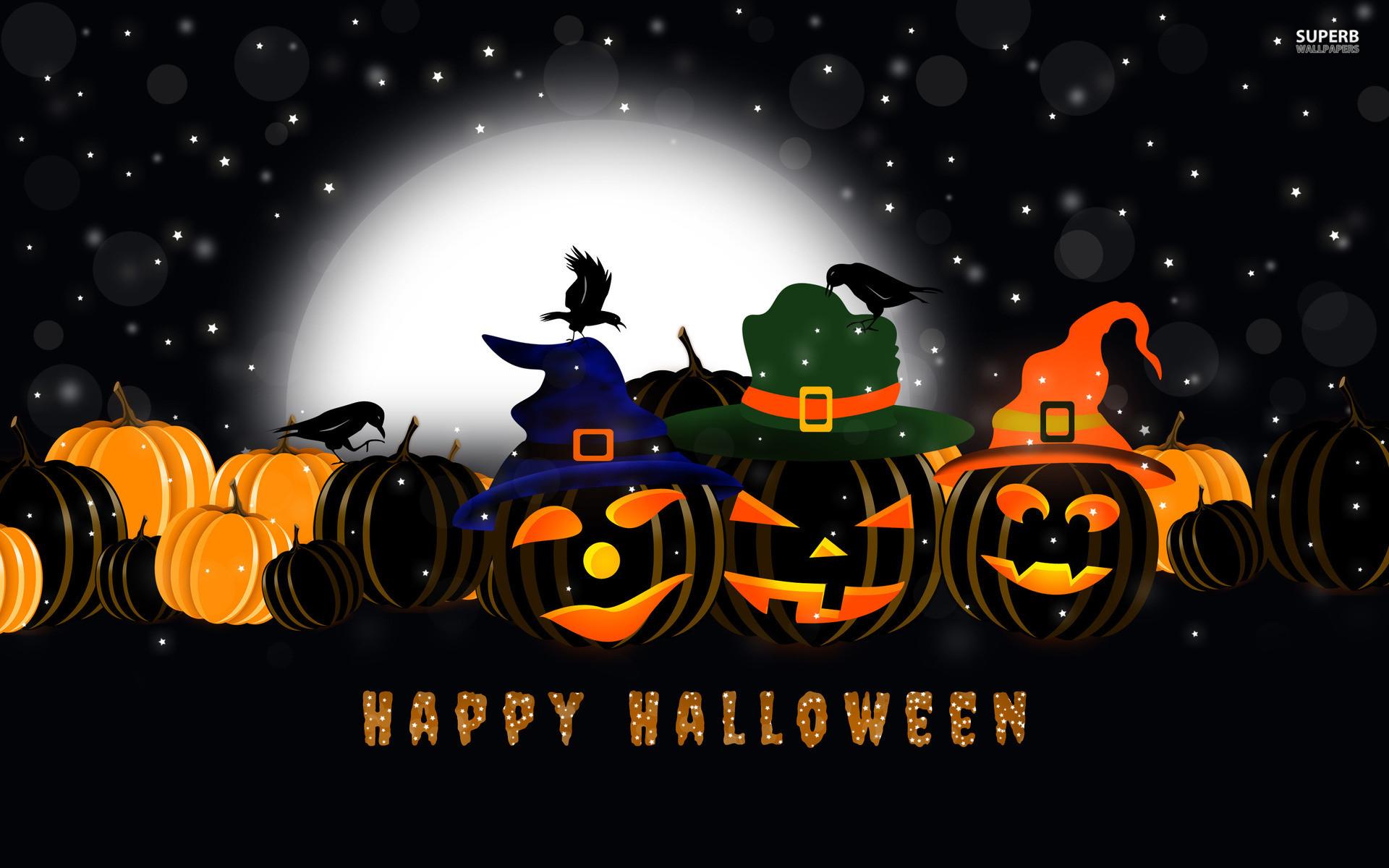 1920x1200 Happy Halloween Wallpaper Cute