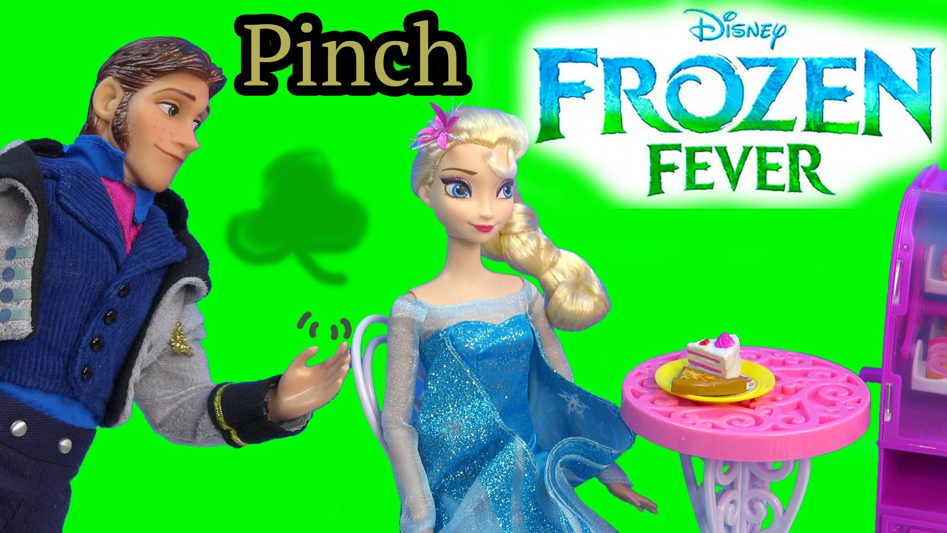 1920x1080 Queen Elsa Hans Pinch Princess Anna Frozen Fever Disney Dolls Kristoff St  Patricks Holiday Playing - YouTube