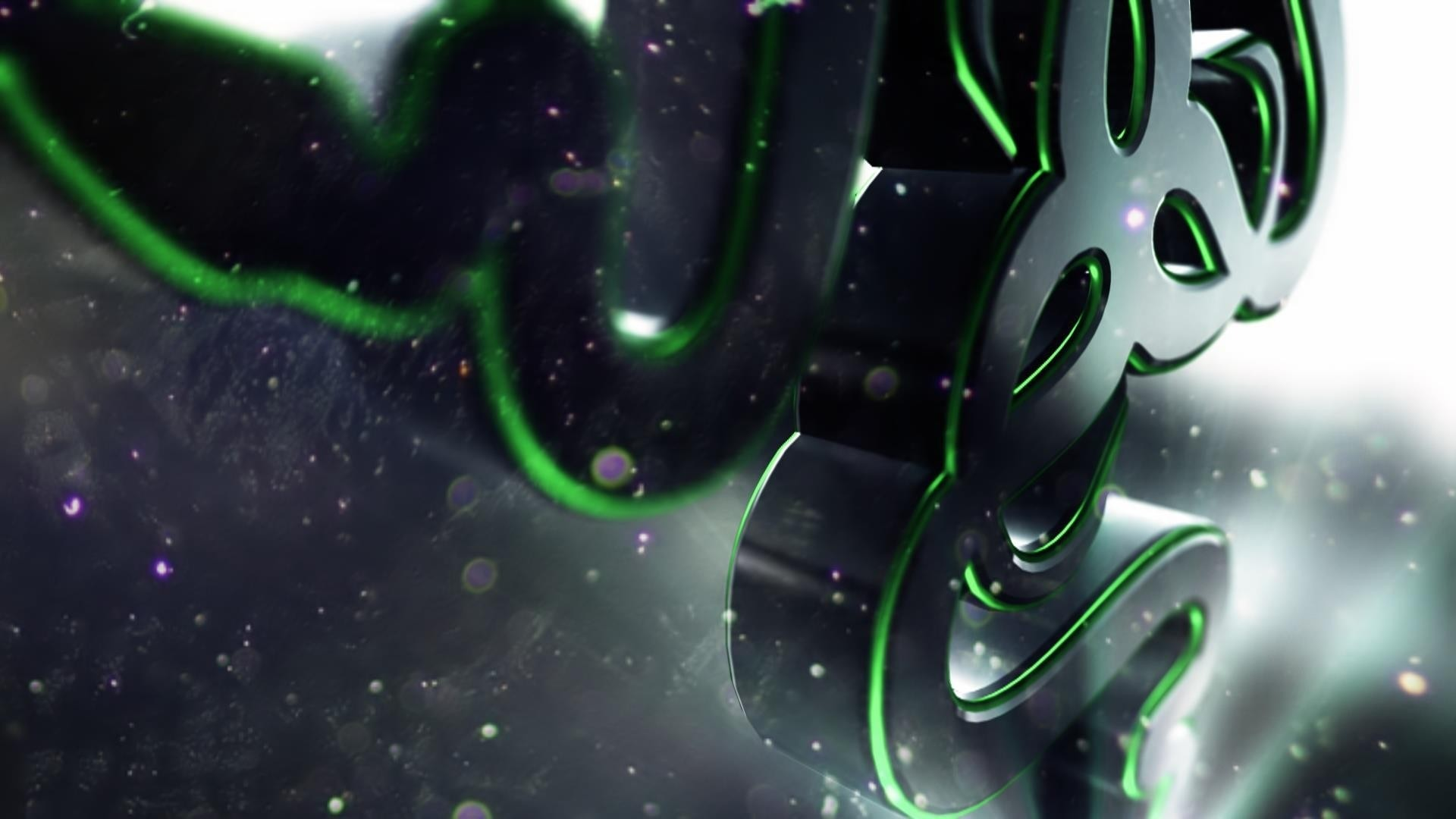 1920x1080 Preview wallpaper razer, logo, symbol, shape