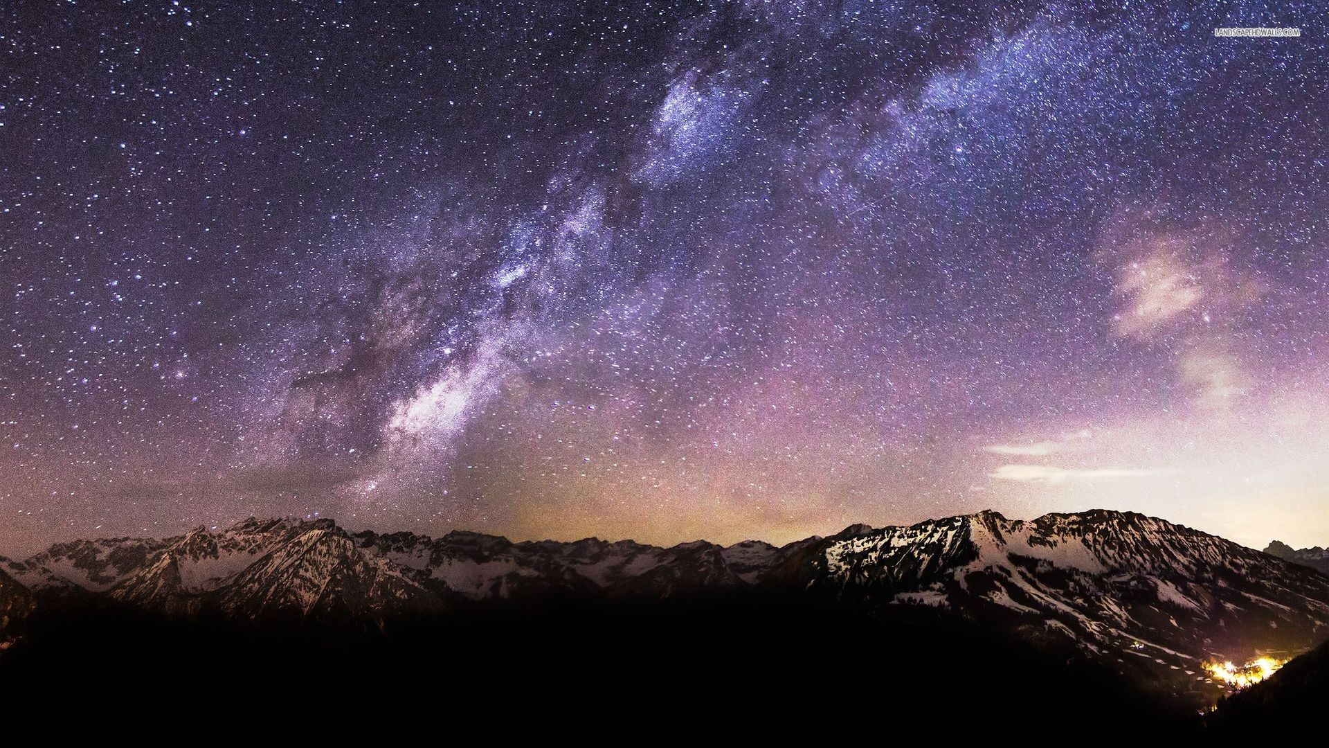 1920x1080 Milky Way Wallpaper 1080p - Wallpaper.