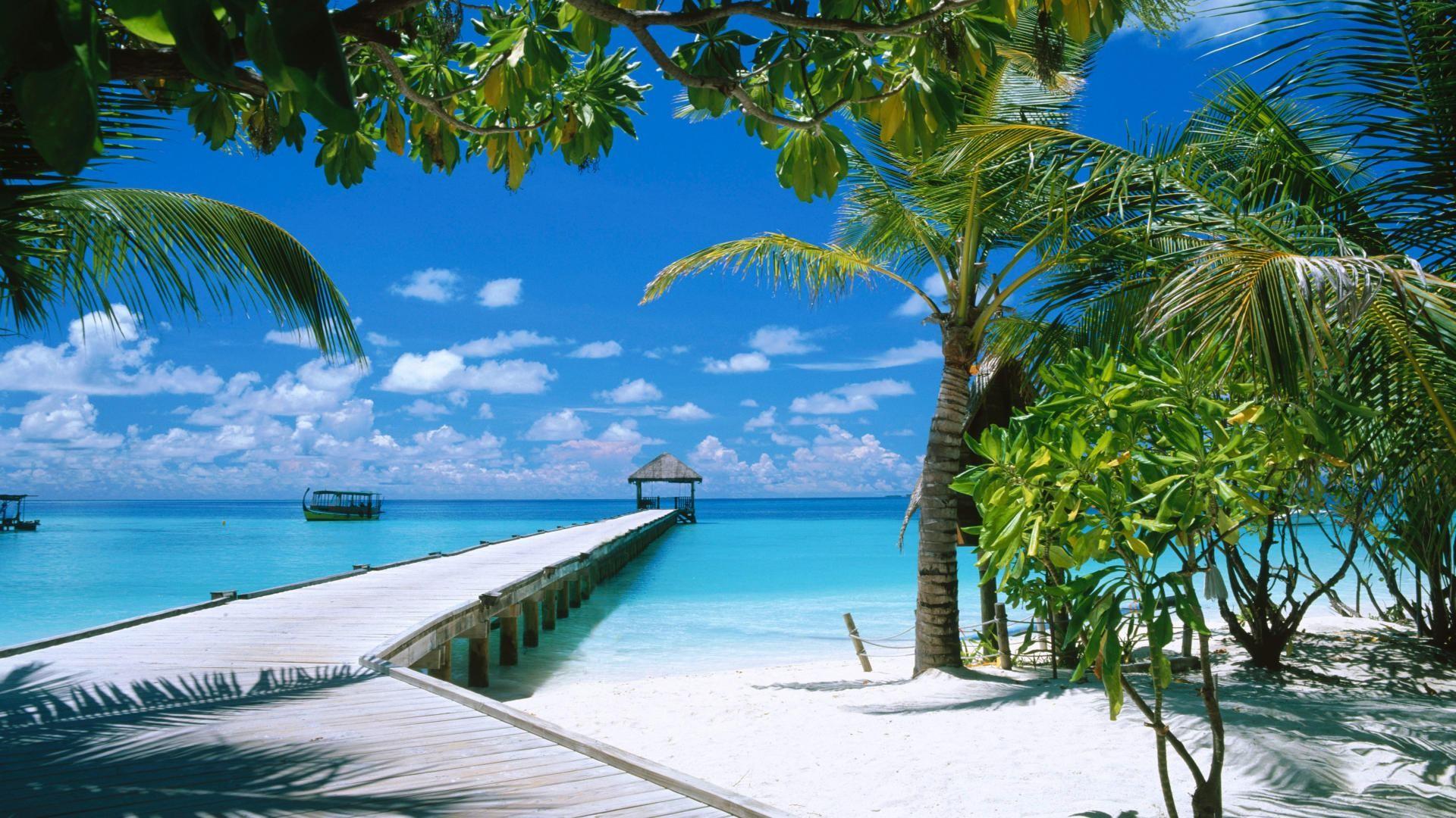 Beach Wallpaper Computer 54 Images 1920x1080 Paradise Summer Desktop Wallpapers