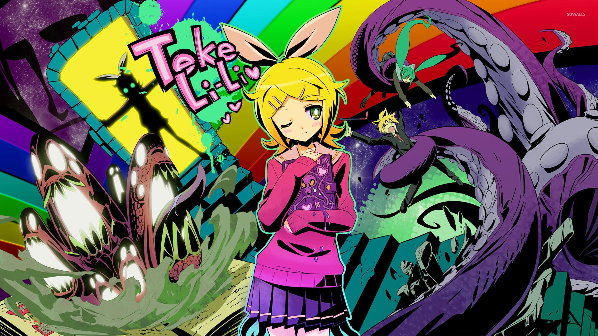 Vocaloid Wallpaper Rin Vocaloid Wallpa...