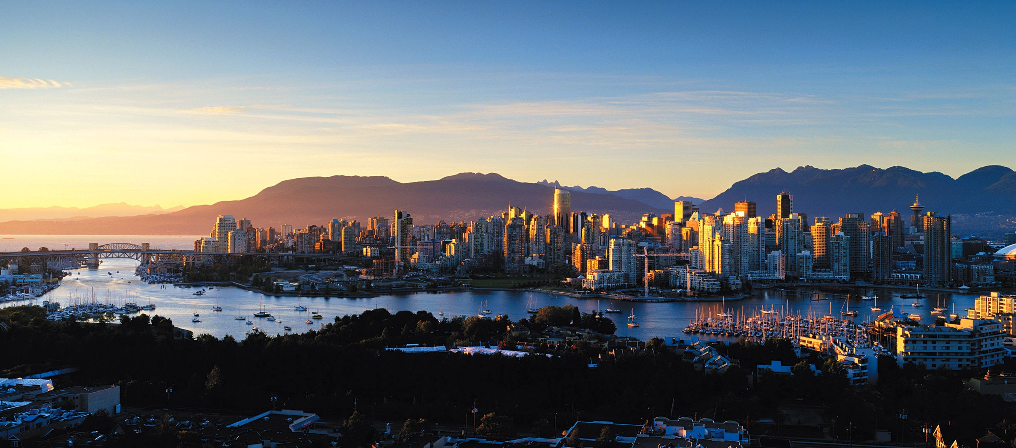3397x1500 Vancouver Wallpapers