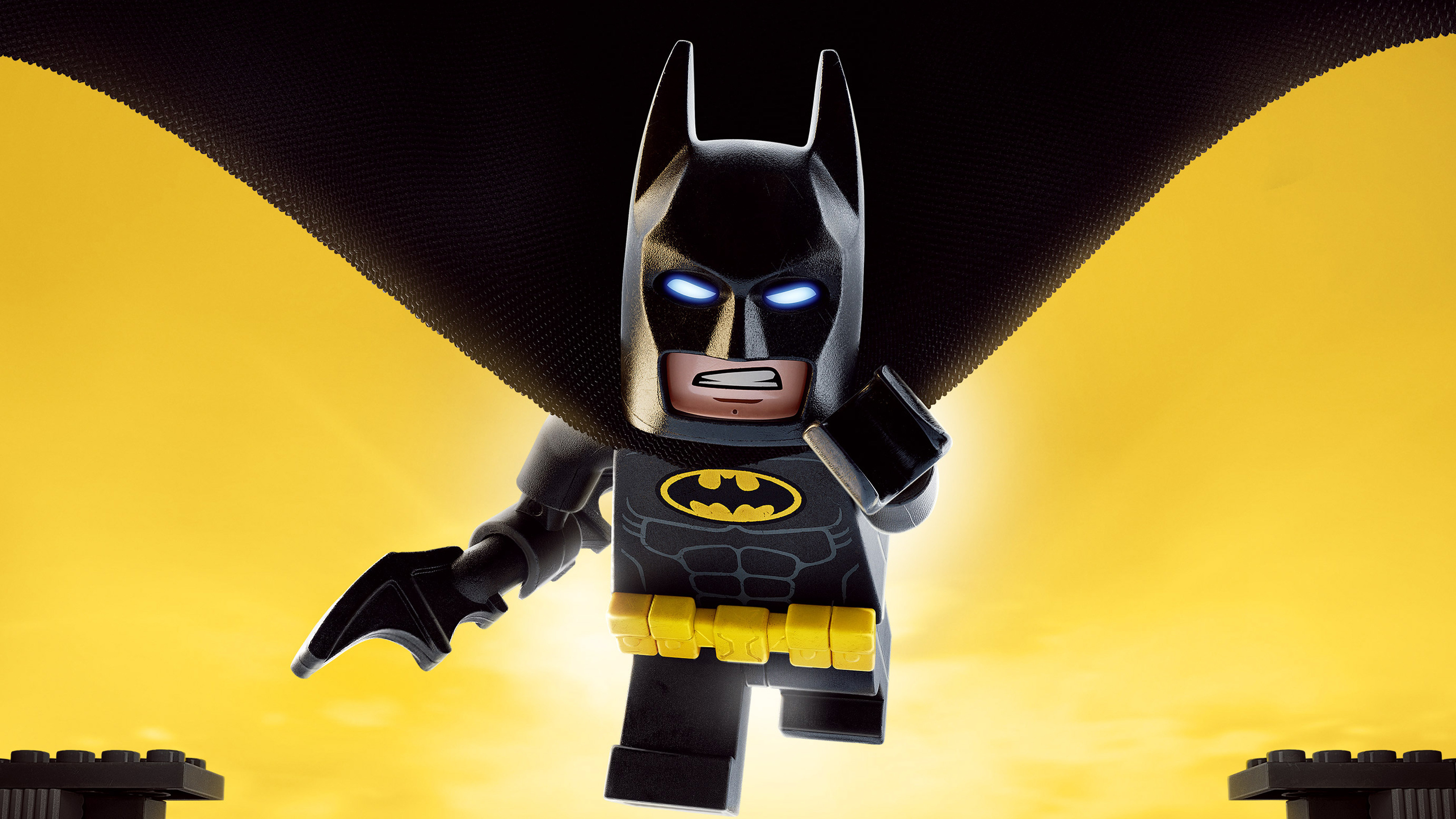 3840x2160 The Lego Batman Movie 4K 2017