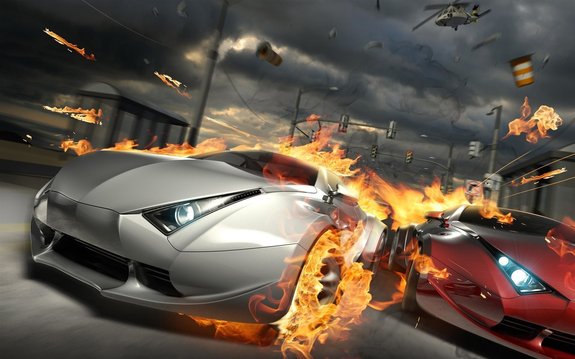 1920x1200 3D Cars HD Wallpapers Free Download