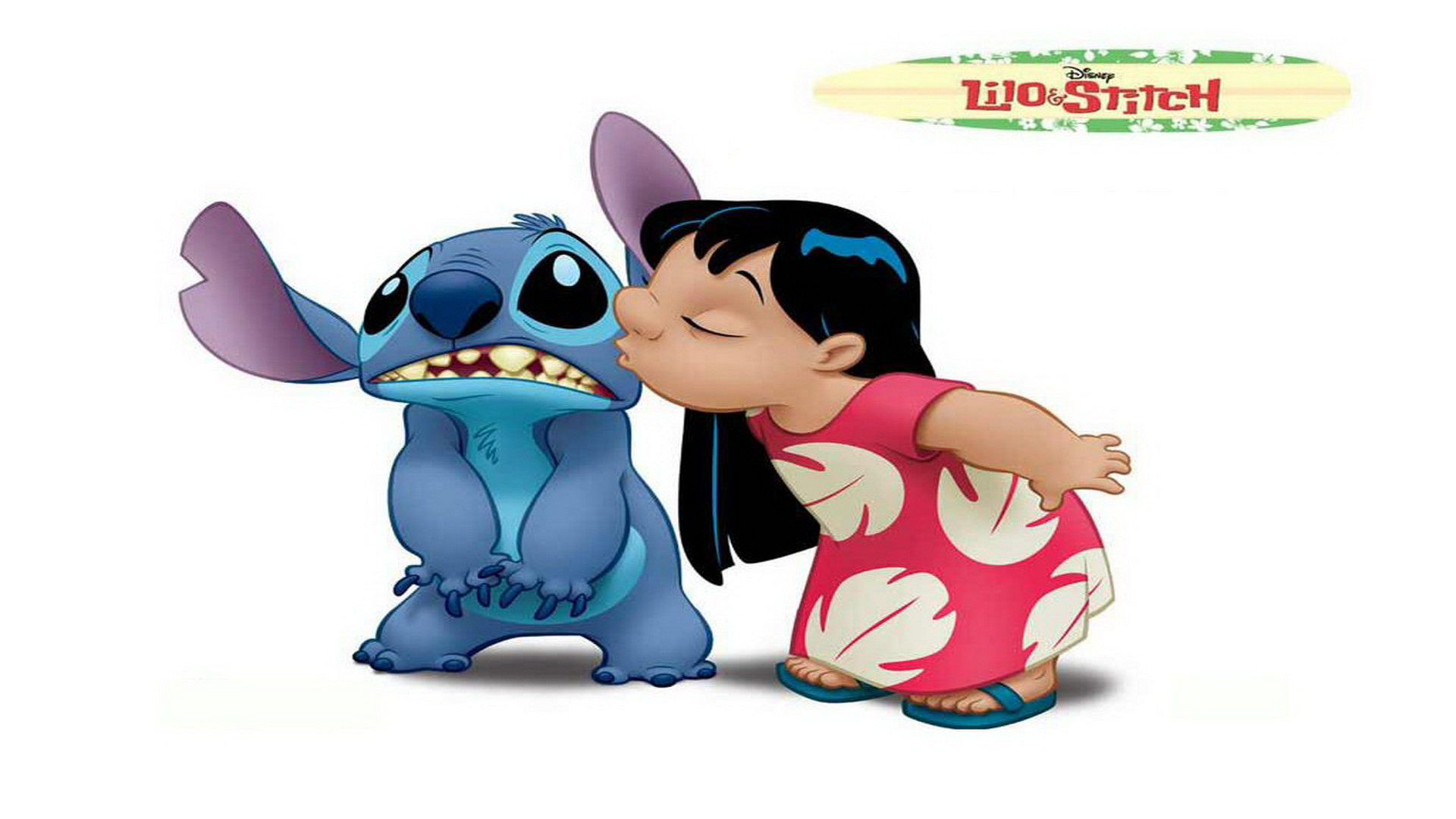 1920x1080 Wallpaper New Year Christmas Gift Stich