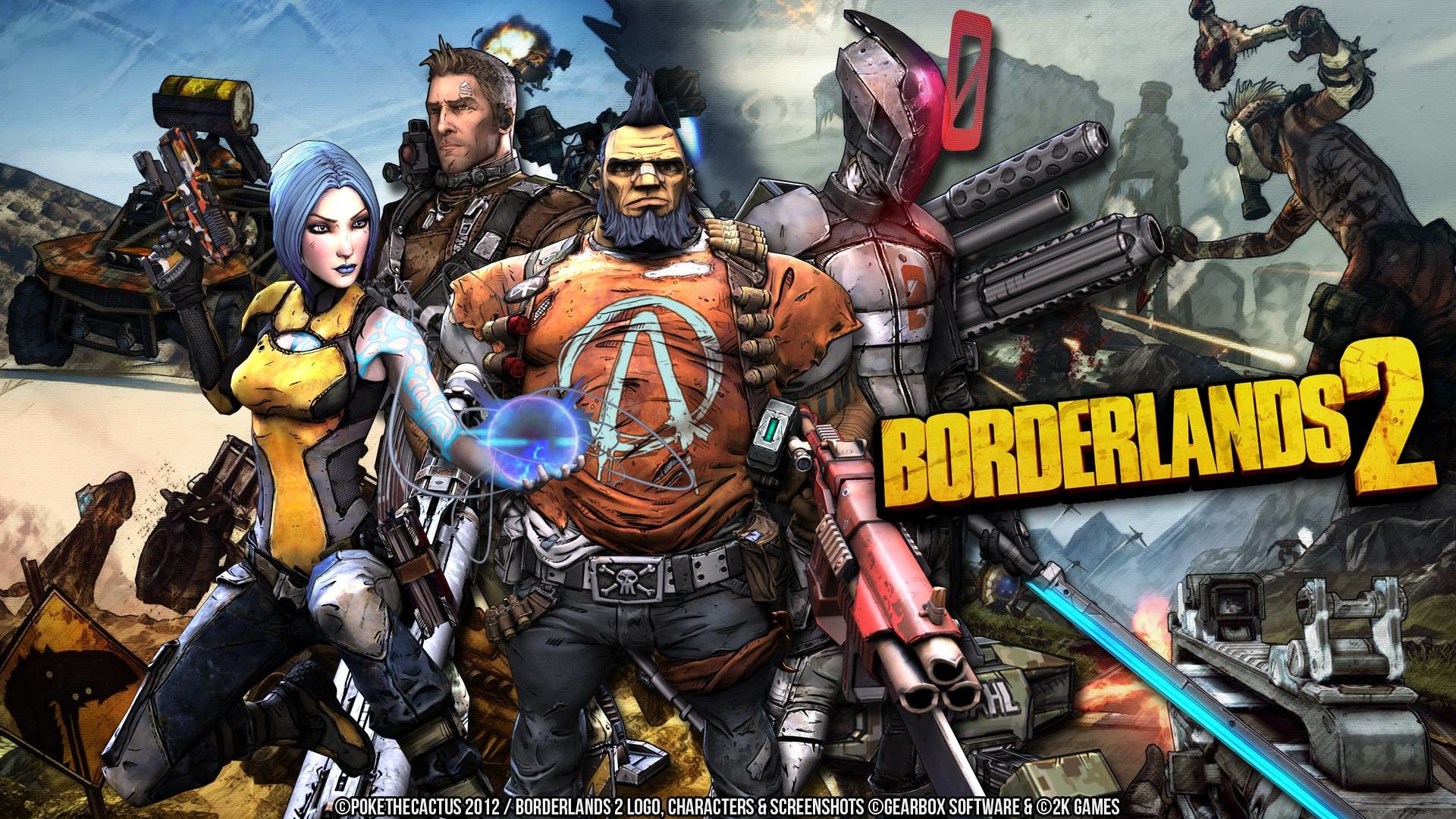 Borderlands 2 Zero Wallpaper (75+ Images