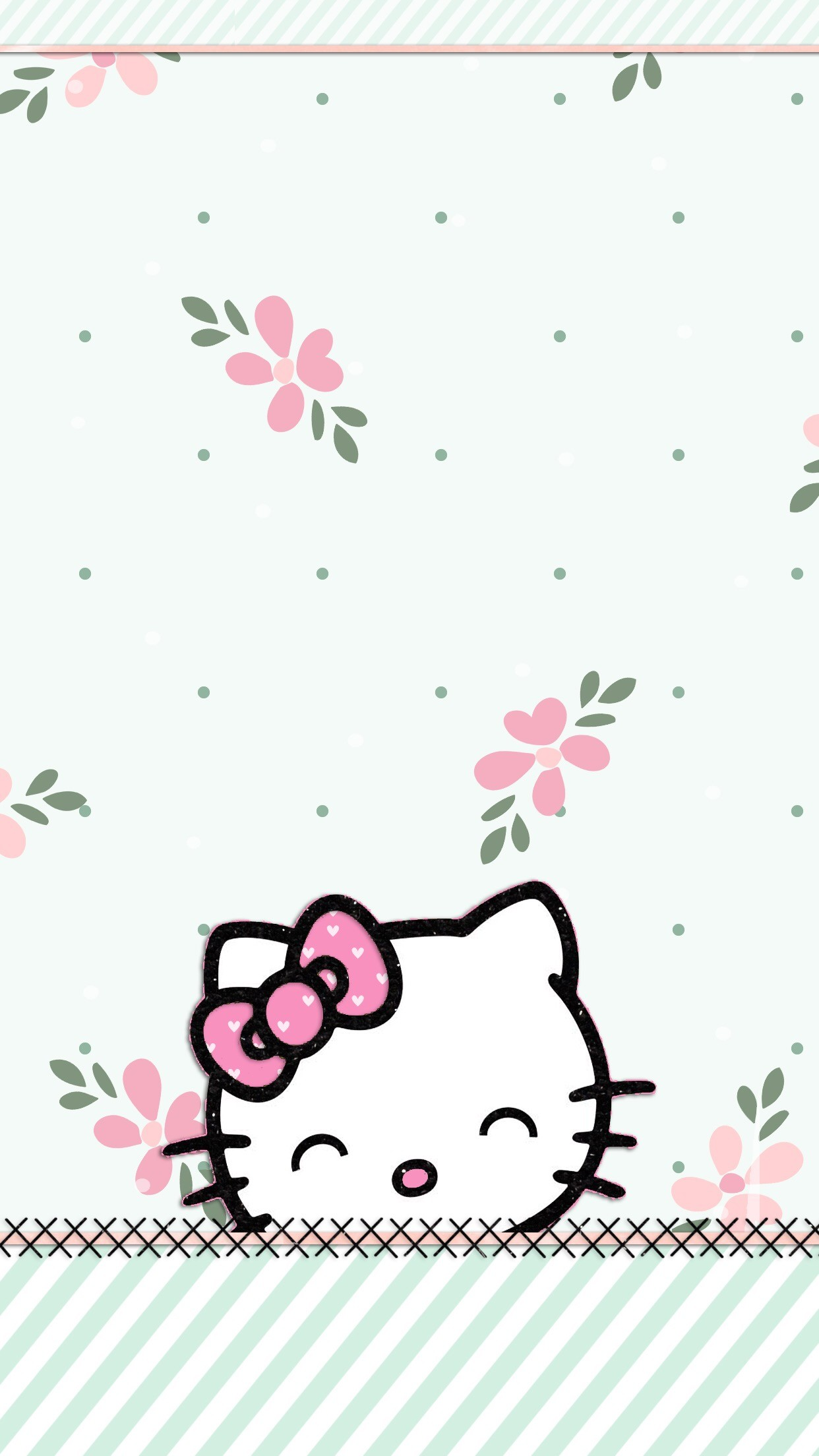 Popular Wallpaper Mobile Hello Kitty